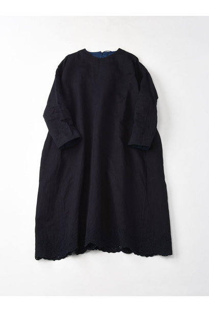 Ai-nando Awa Sateen Cutwork Uma Dress