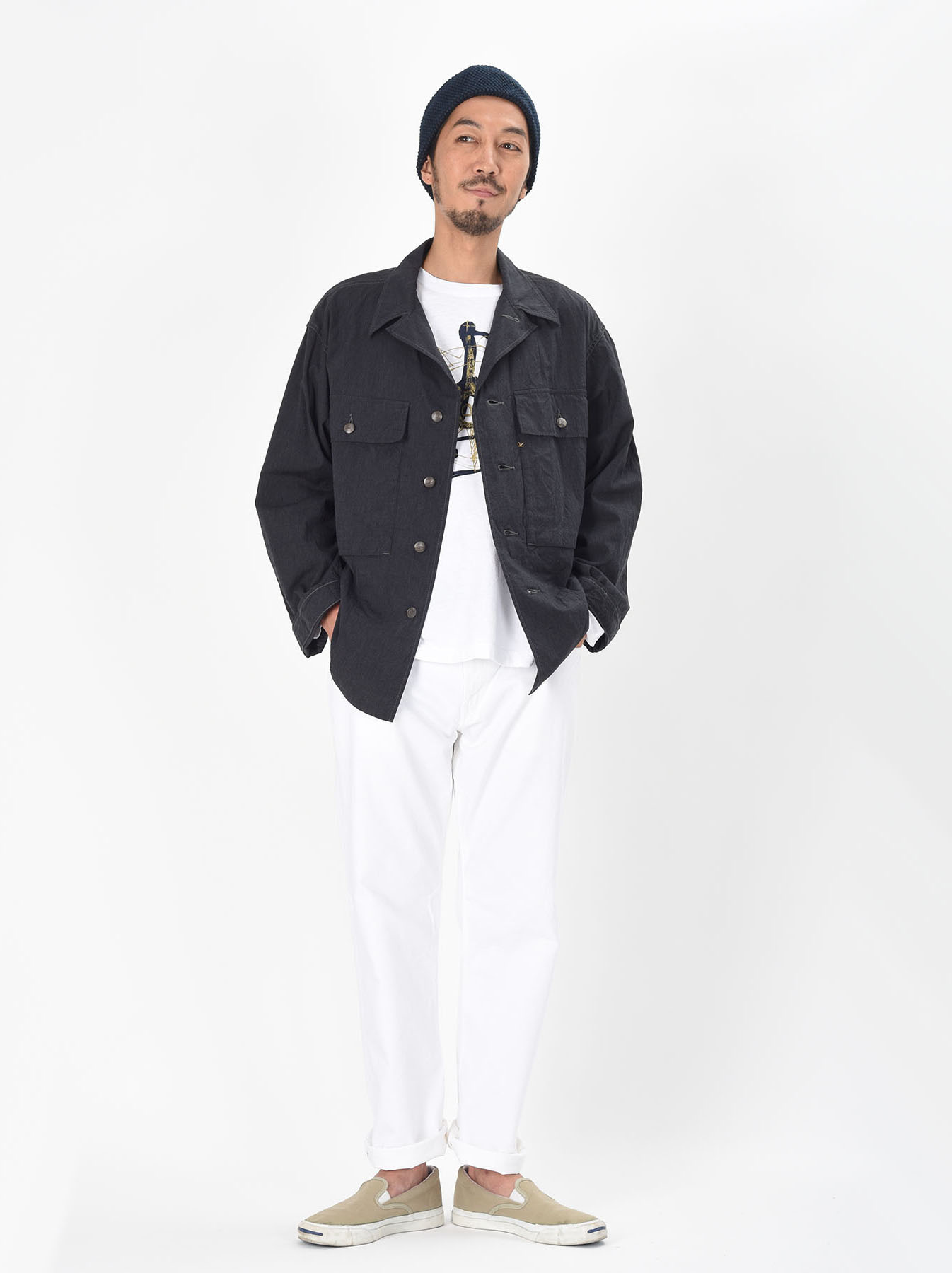 WH Grandrelle 908 Military Coverall-2