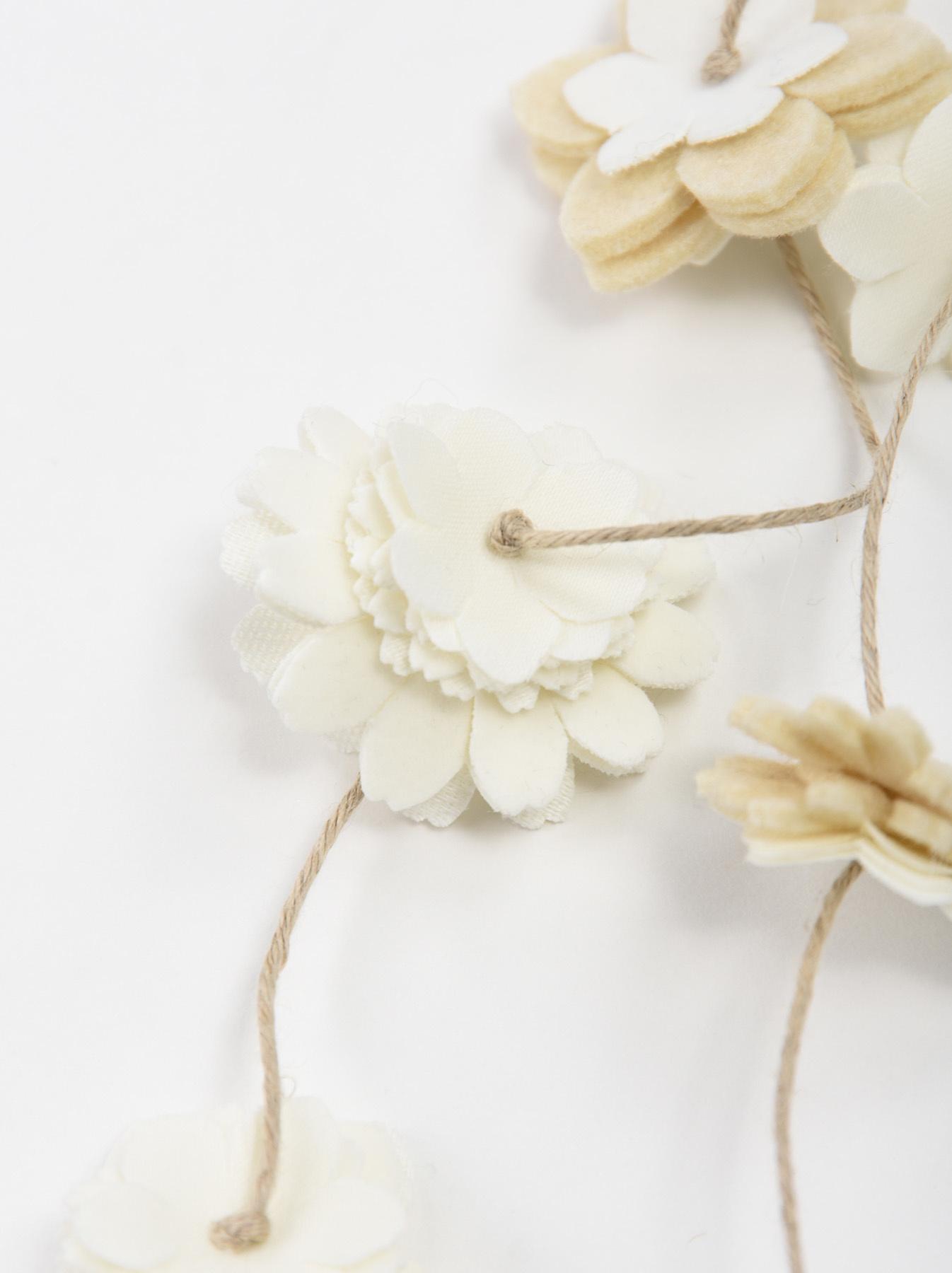 Felt Flower Necklace-4
