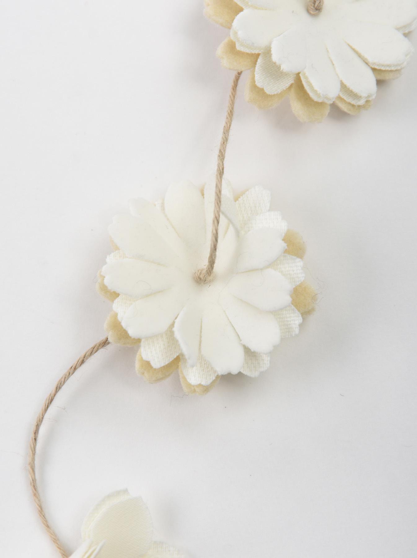 Felt Flower Necklace-5