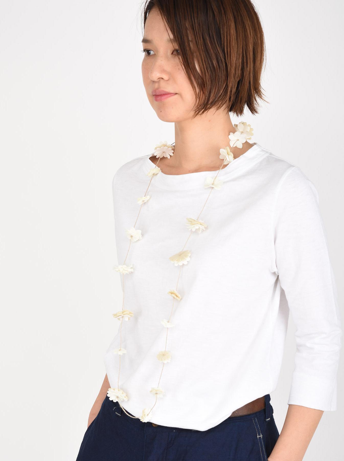 Felt Flower Necklace-2