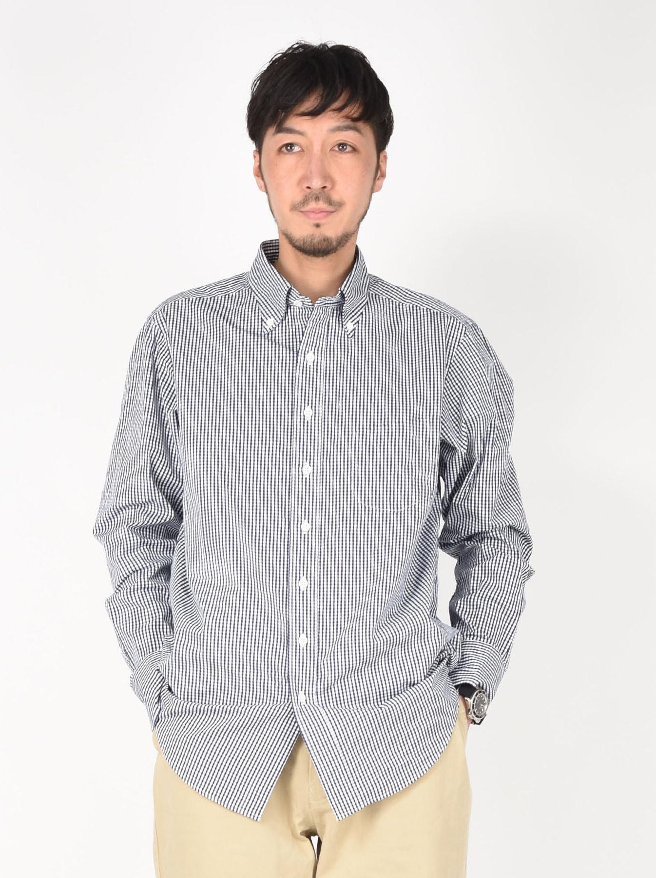 180/3 Suvin Cotton Button Down Shirt-3