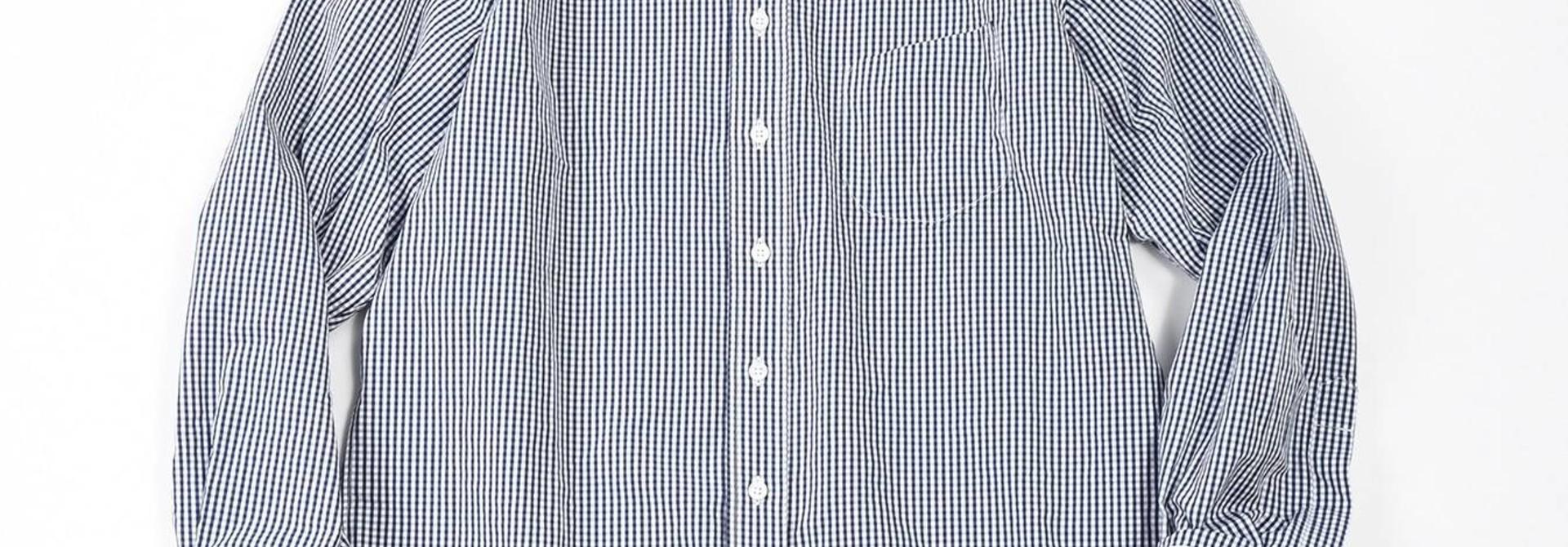 180/3 Suvin Cotton Button Down Shirt