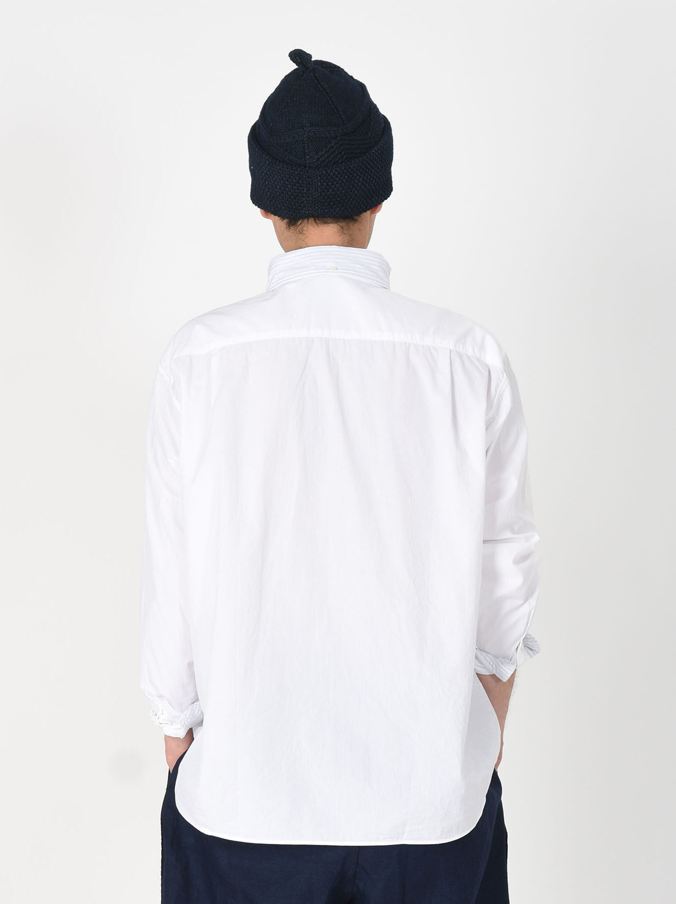 Damp Button Down Ocean Shirt-5
