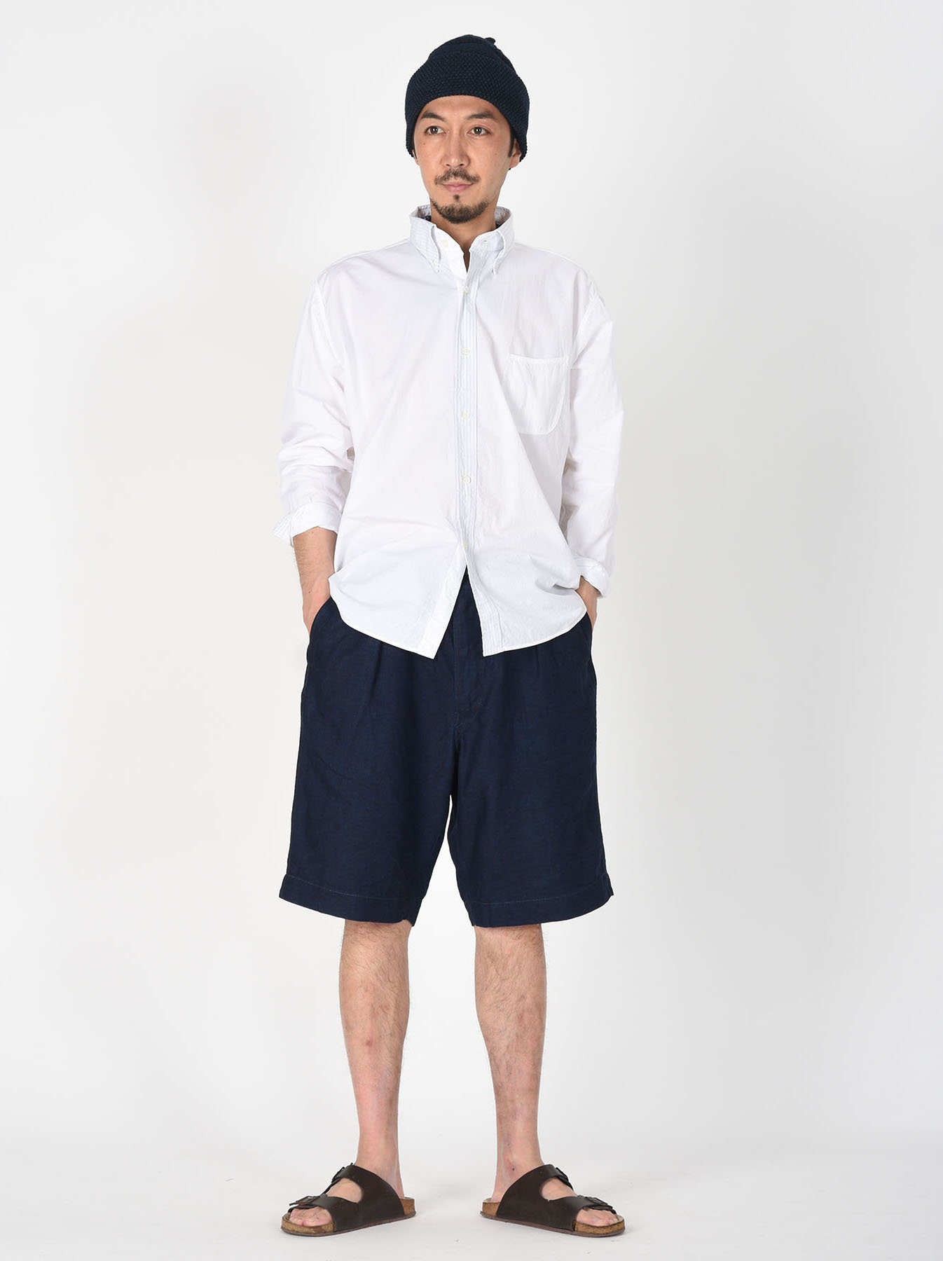 Damp Button Down Ocean Shirt-2