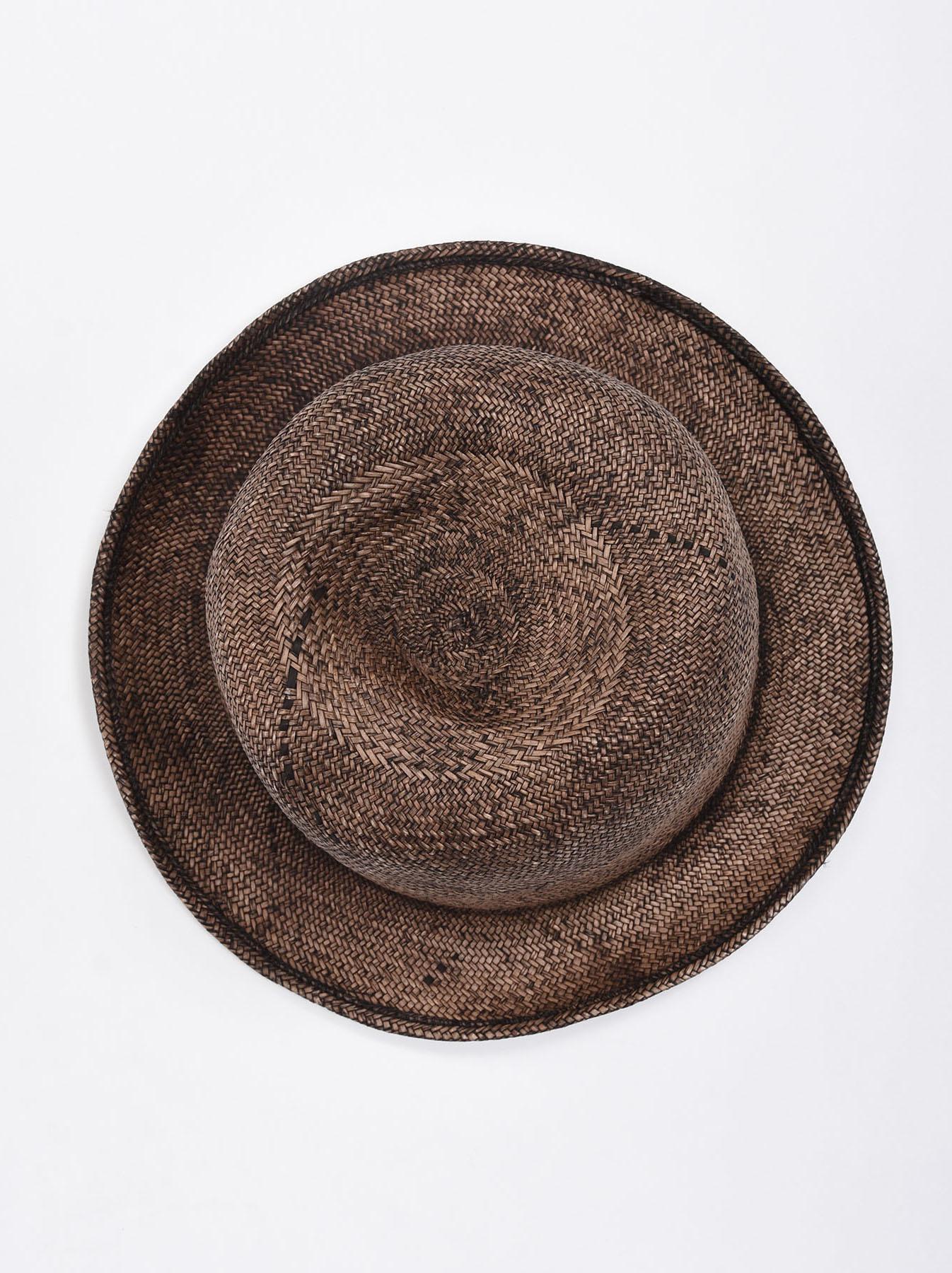 Piece-dyed Panama Hat-3