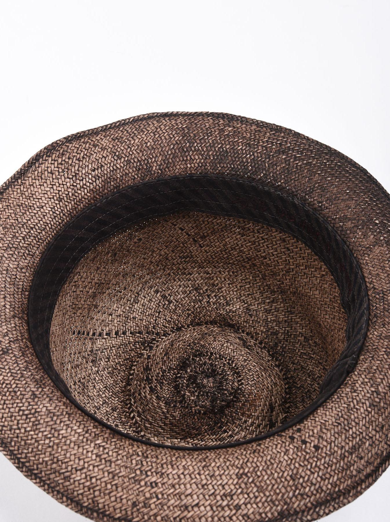 Piece-dyed Panama Hat-4