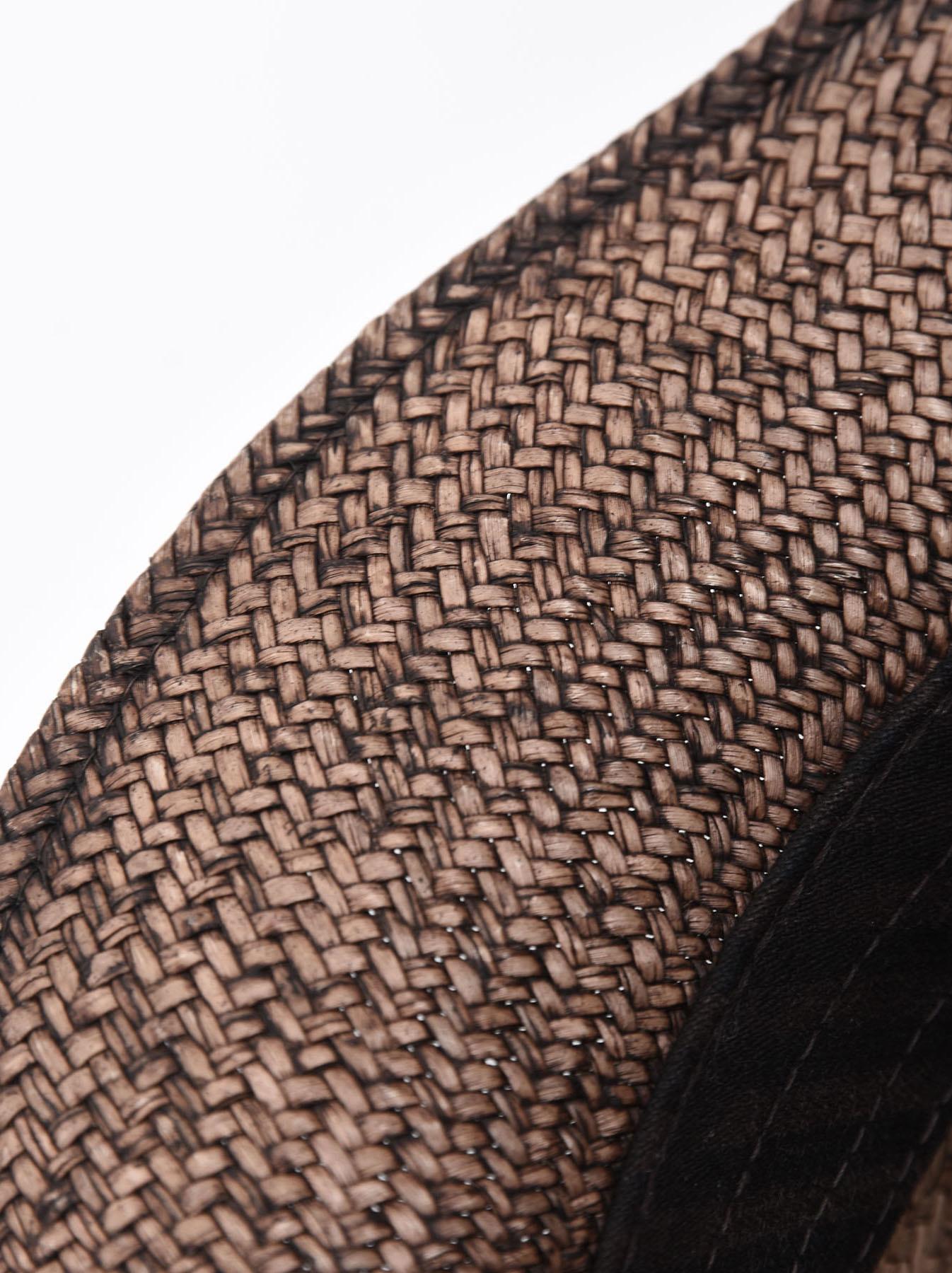 Piece-dyed Panama Hat-5