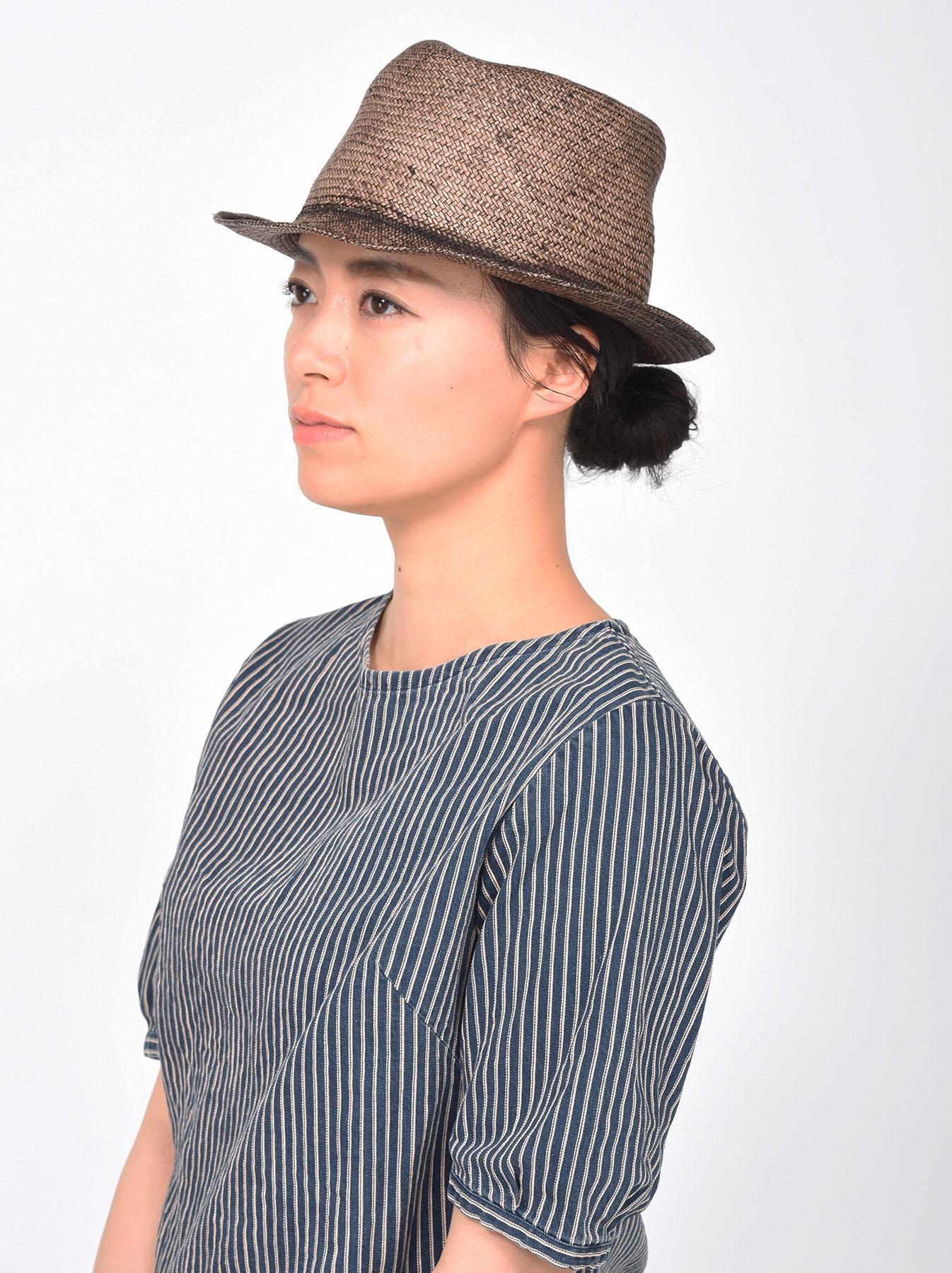 Piece-dyed Panama Hat-2