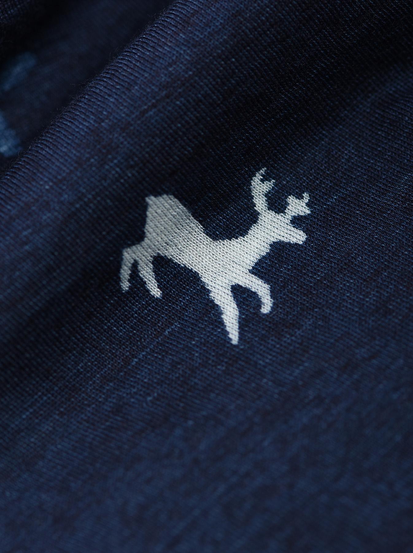 Indigo Tenjiku Reindeer Bandana-4