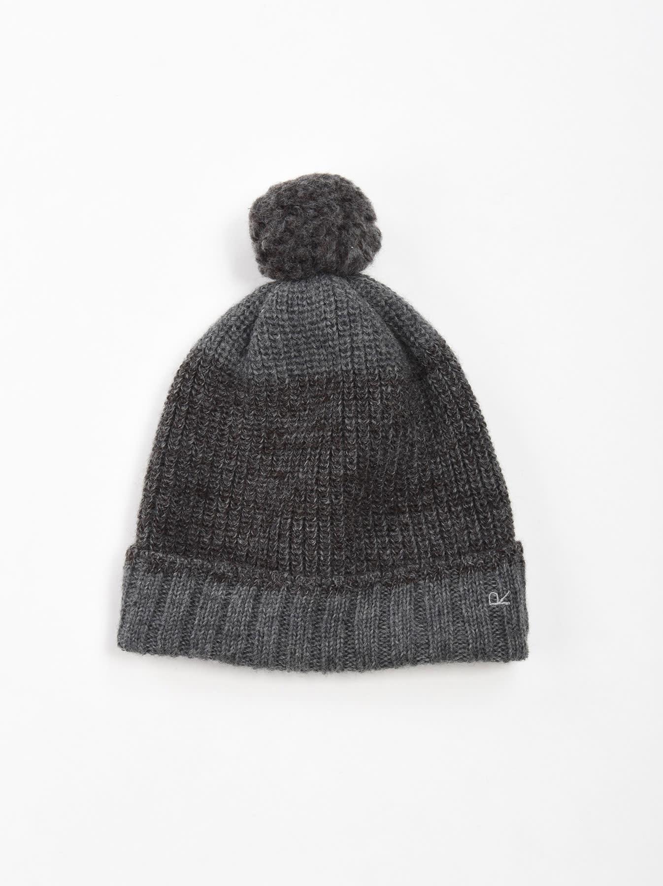 Rib Knit Cap-1