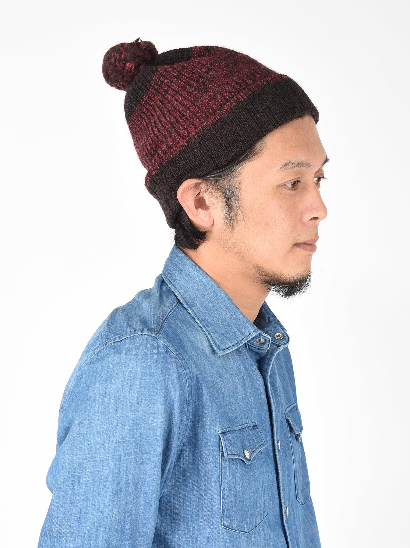 Rib Knit Cap-2