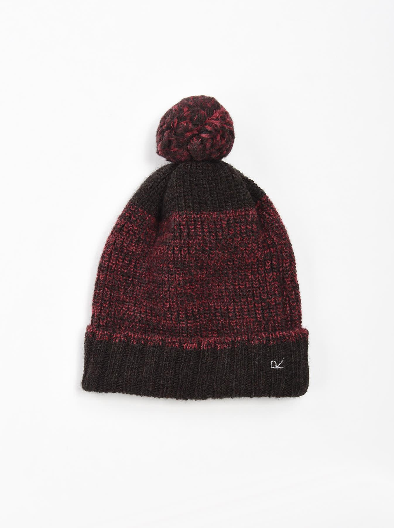 Rib Knit Cap-3