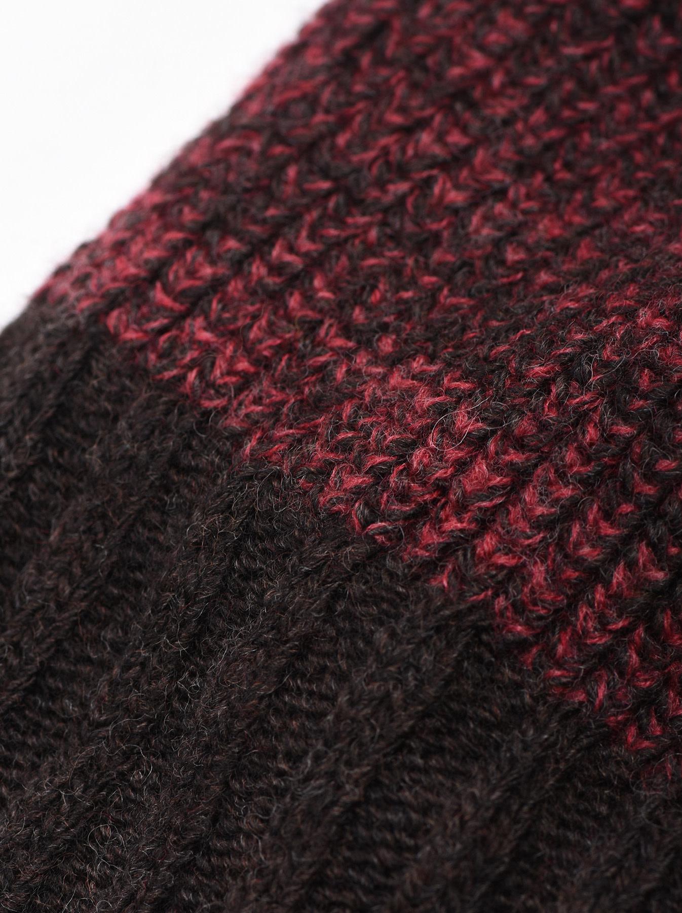 Rib Knit Cap-5