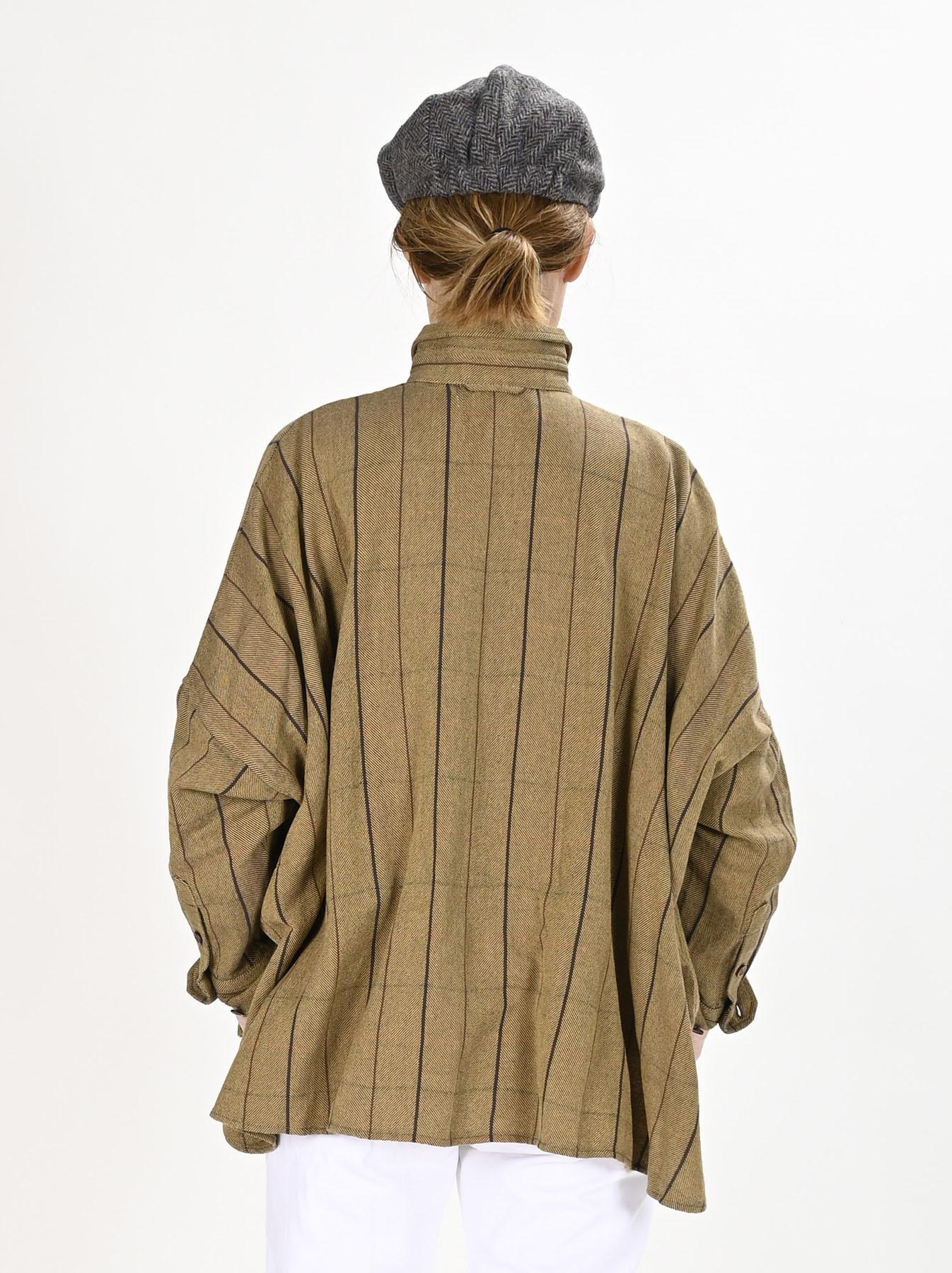 Indian Flannel Big Shirt-5