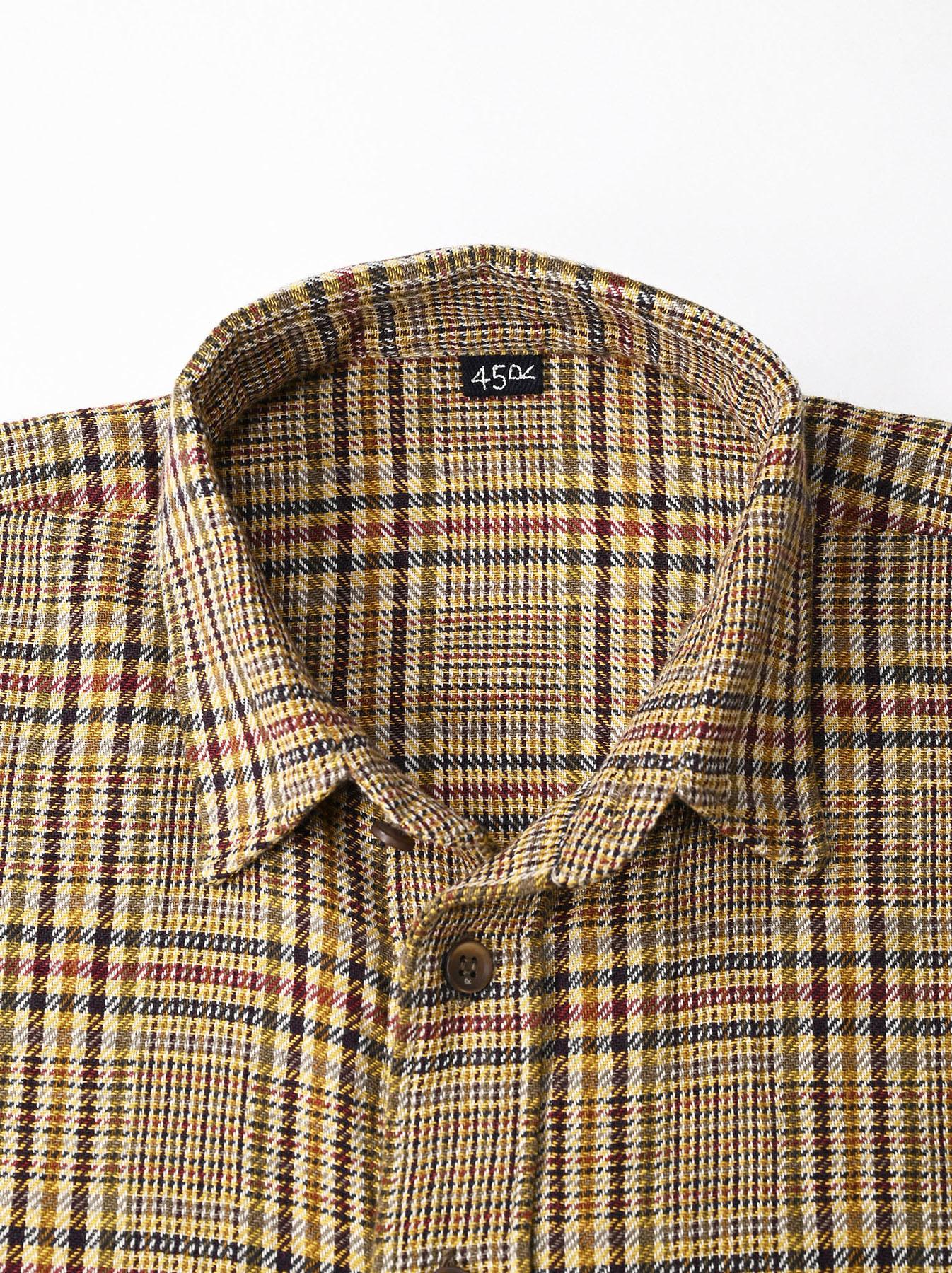 Indian Flannel Big Shirt-7