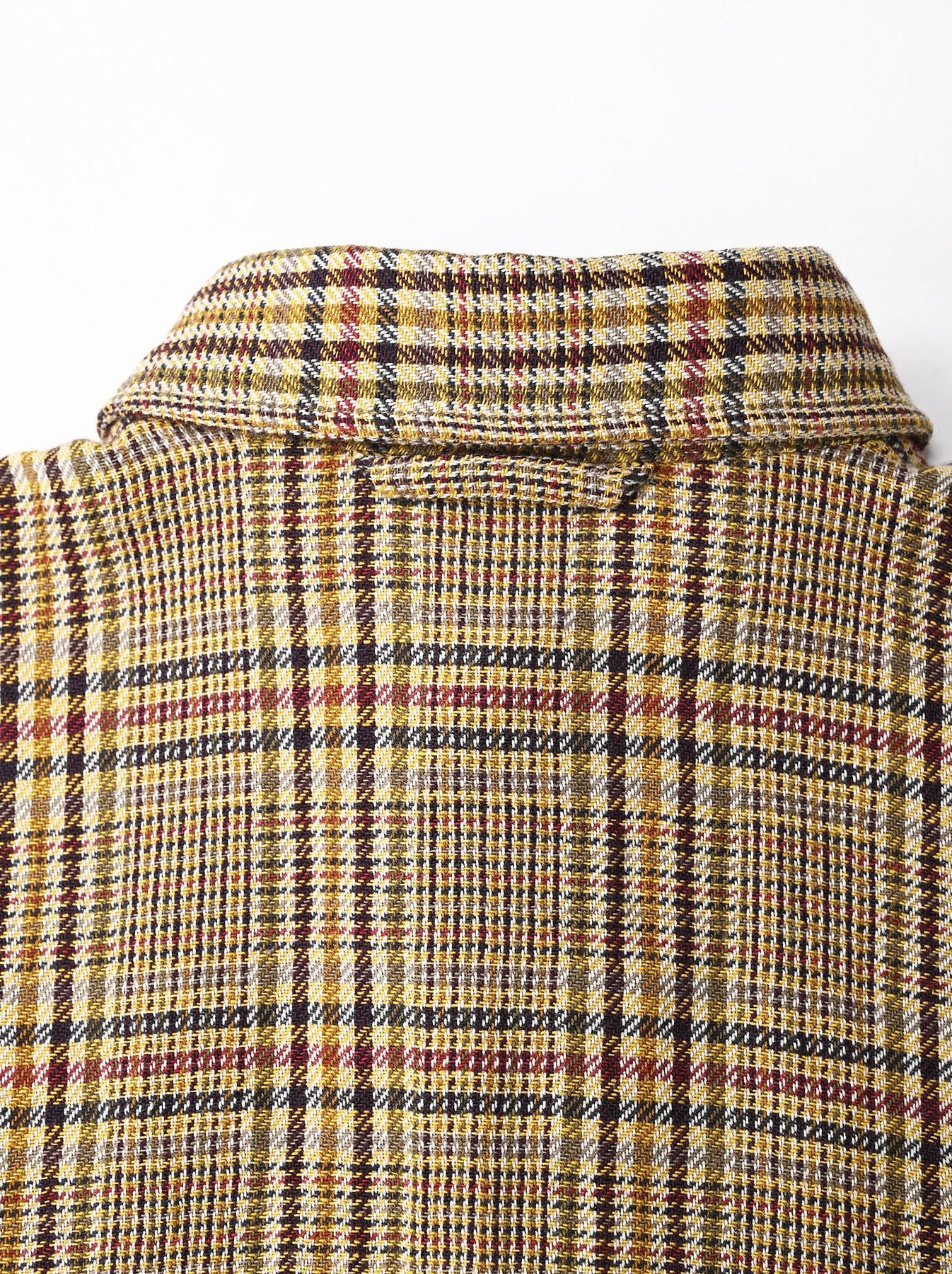 Indian Flannel Big Shirt-8