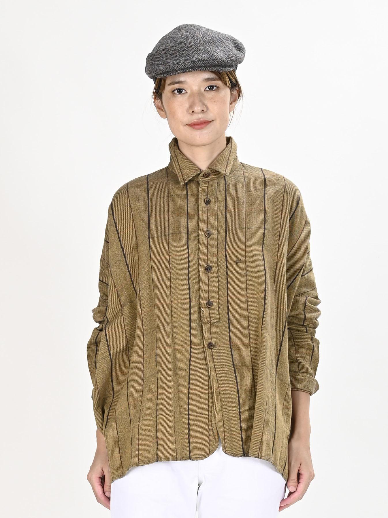 Indian Flannel Big Shirt-3