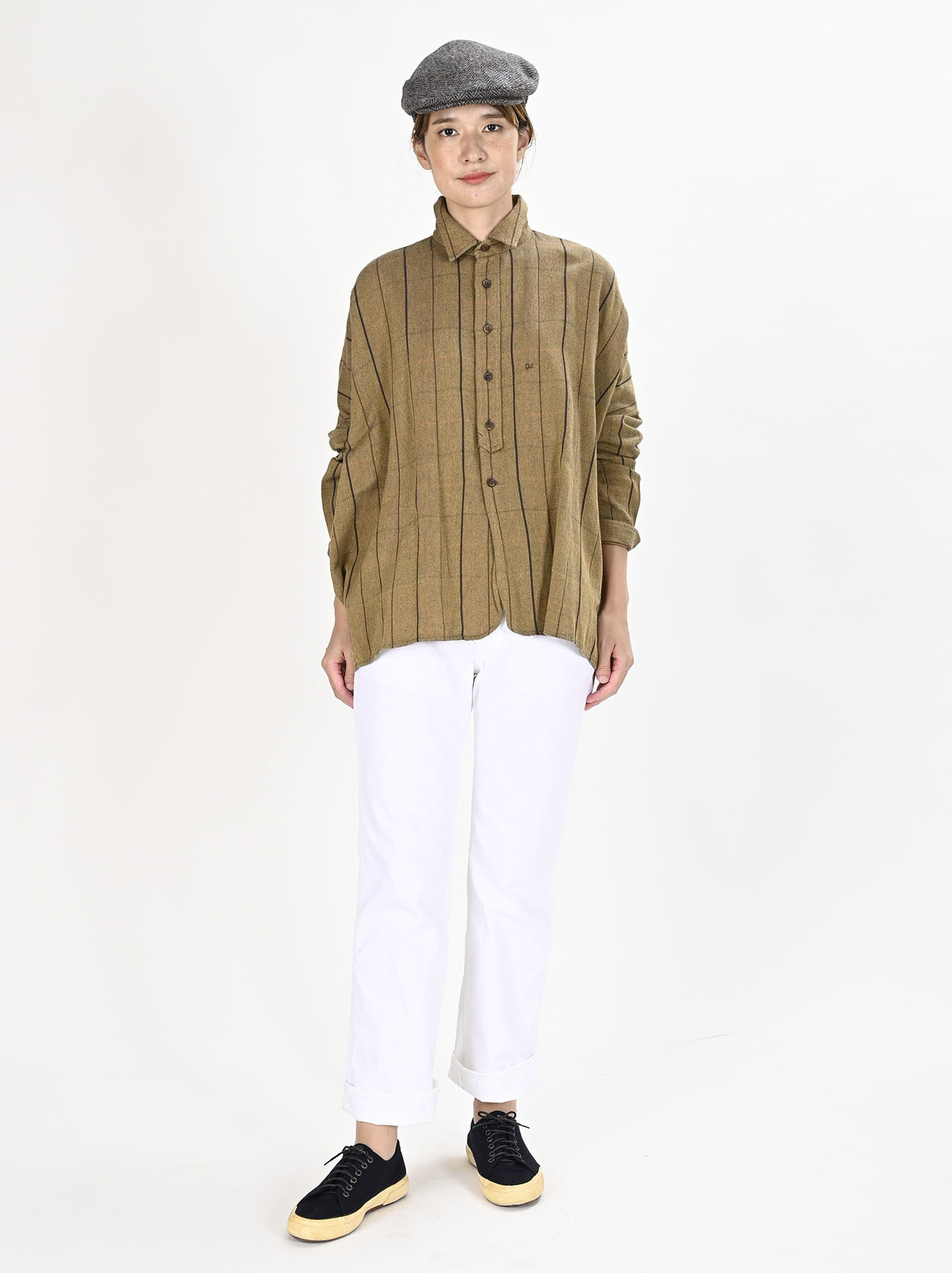 Indian Flannel Big Shirt-2