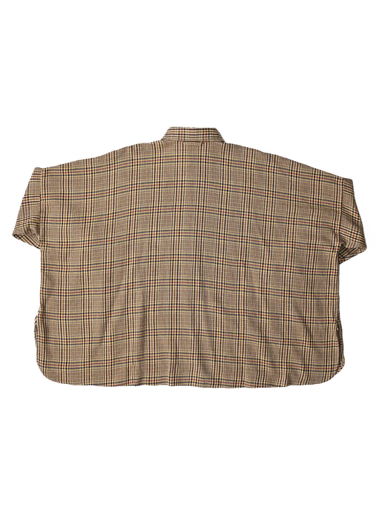 Indian Flannel Big Shirt-12