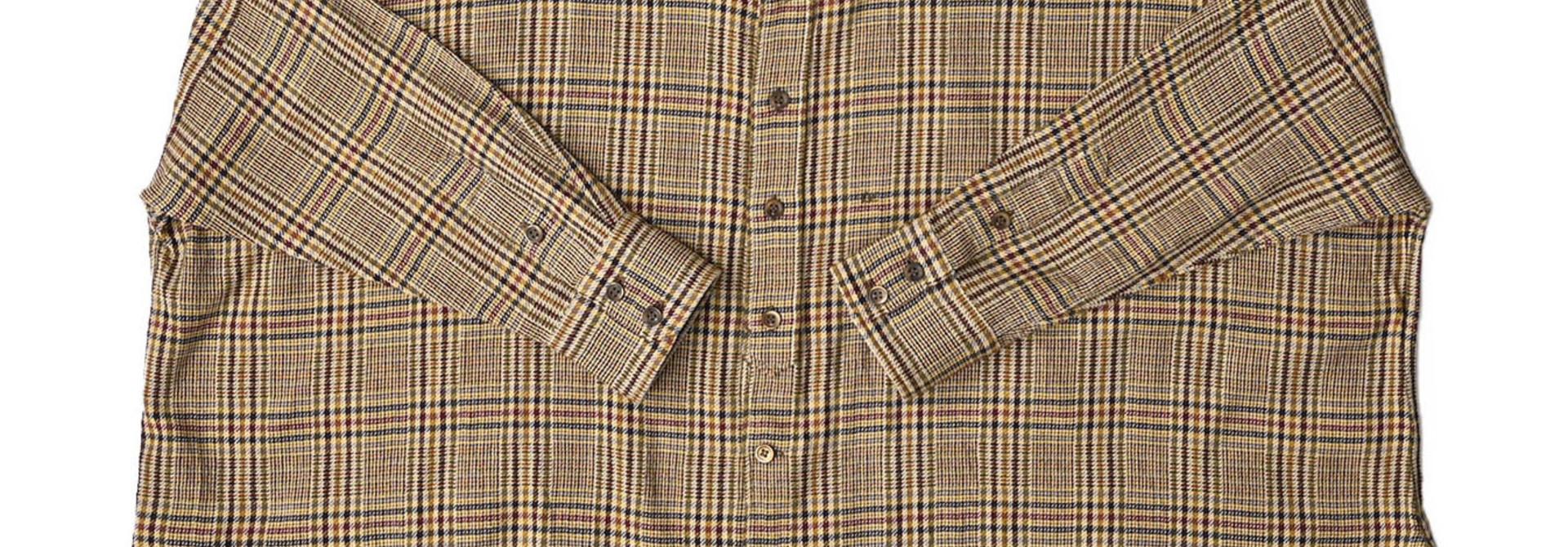 Indian Flannel Big Shirt