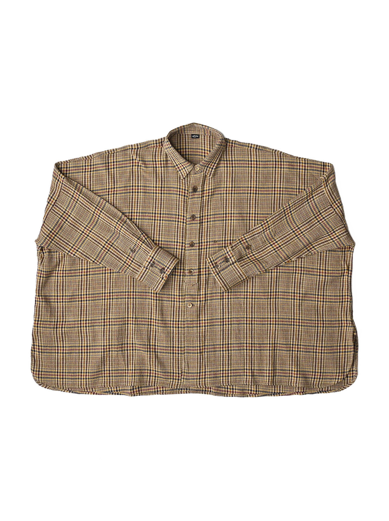 Indian Flannel Big Shirt-1