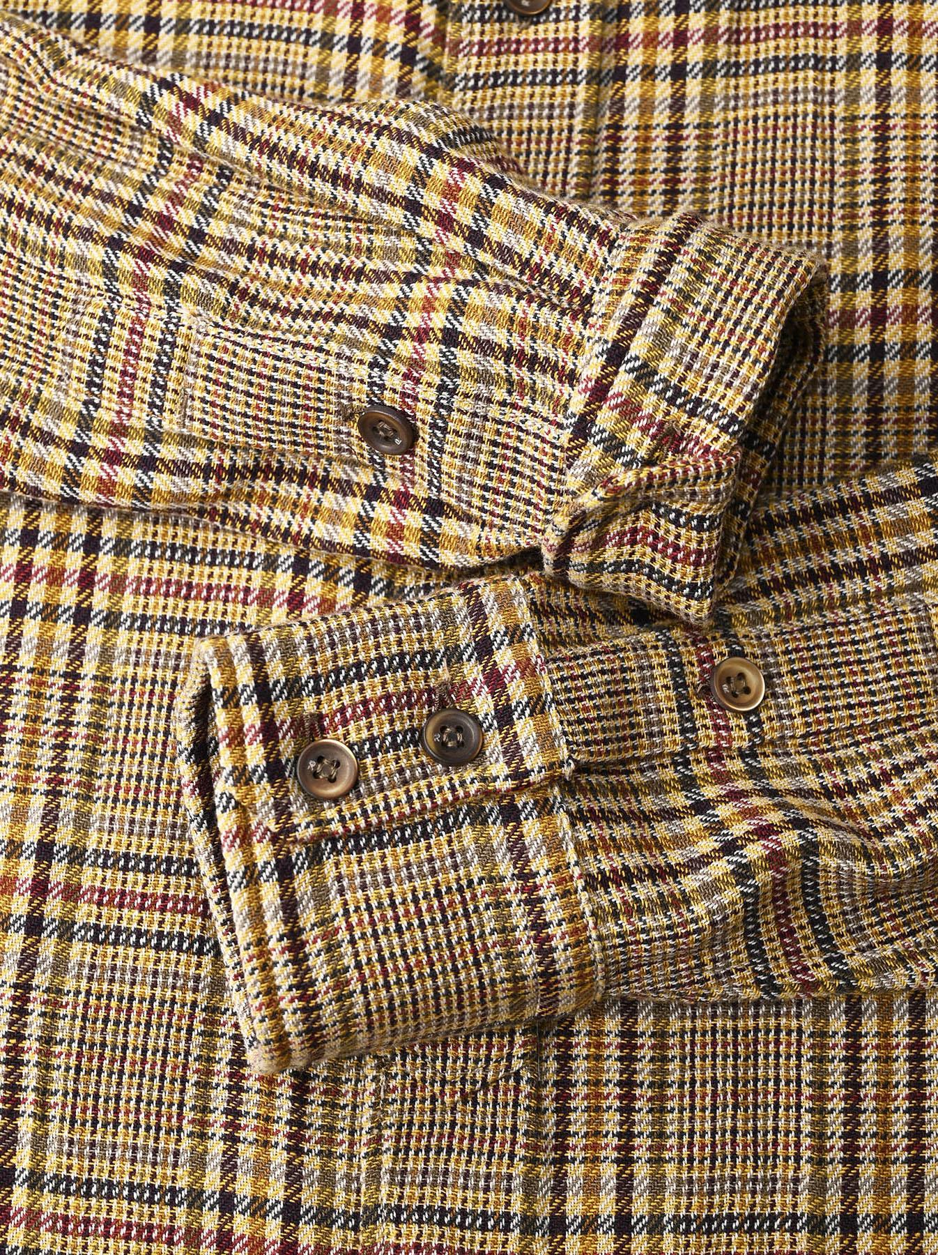 Indian Flannel Big Shirt-9