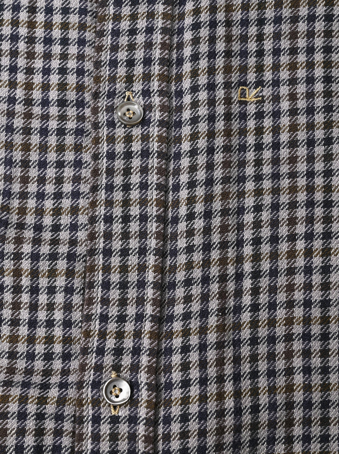 Indian Flannel Big Shirt Dress-8