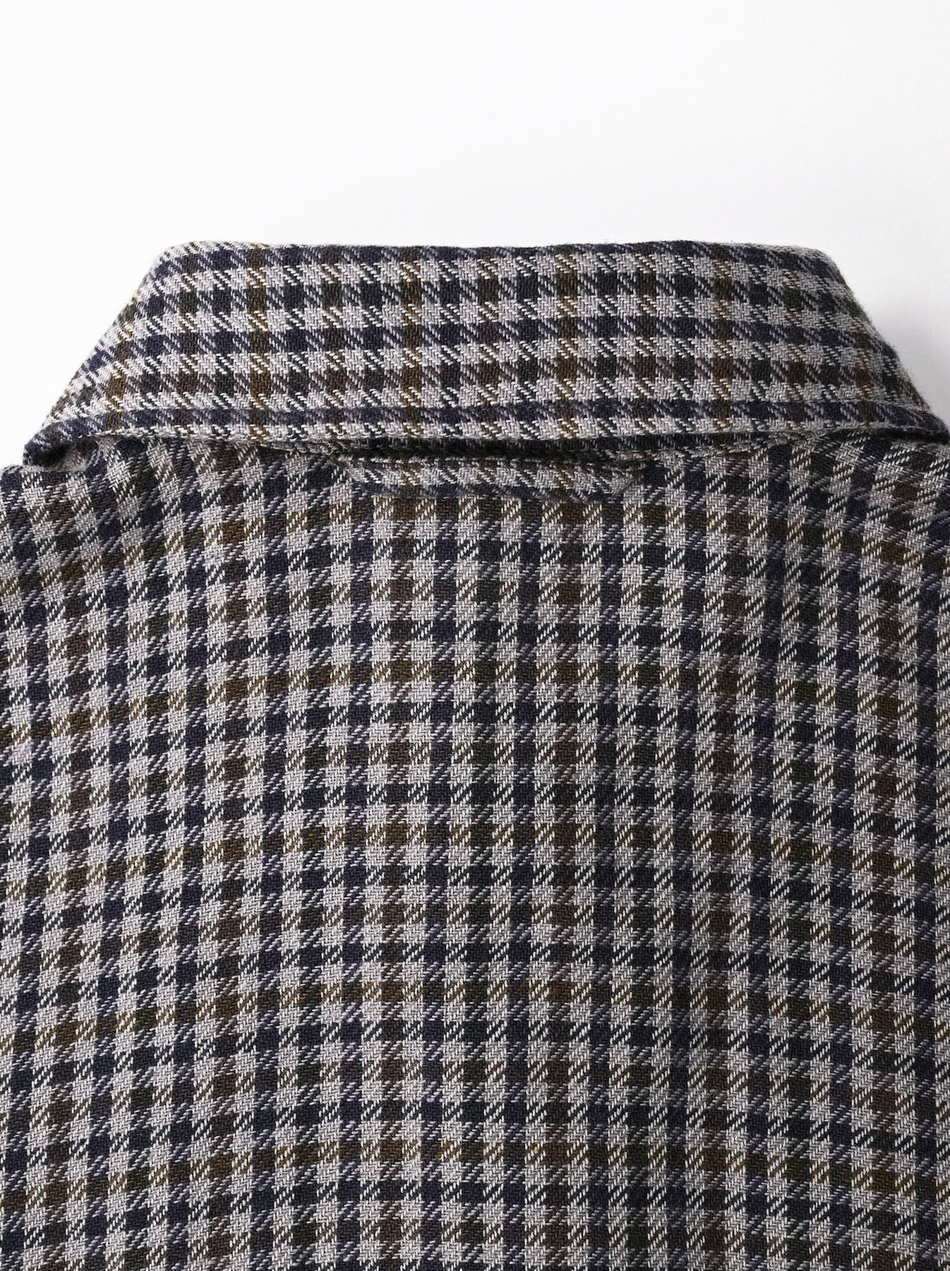Indian Flannel Big Shirt Dress-7