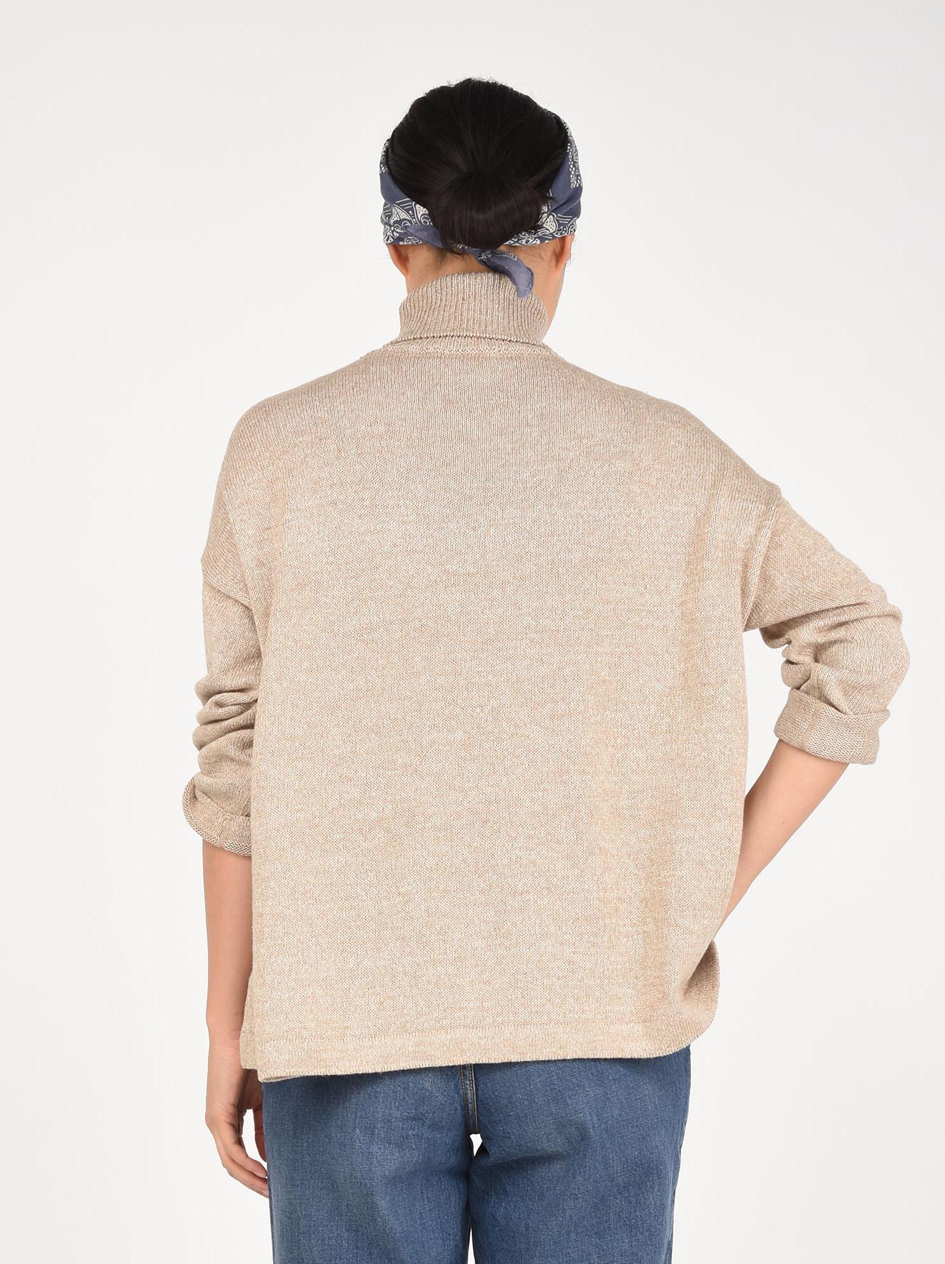 Zimbabwe Cotton Knit-sew Turtleneck-5
