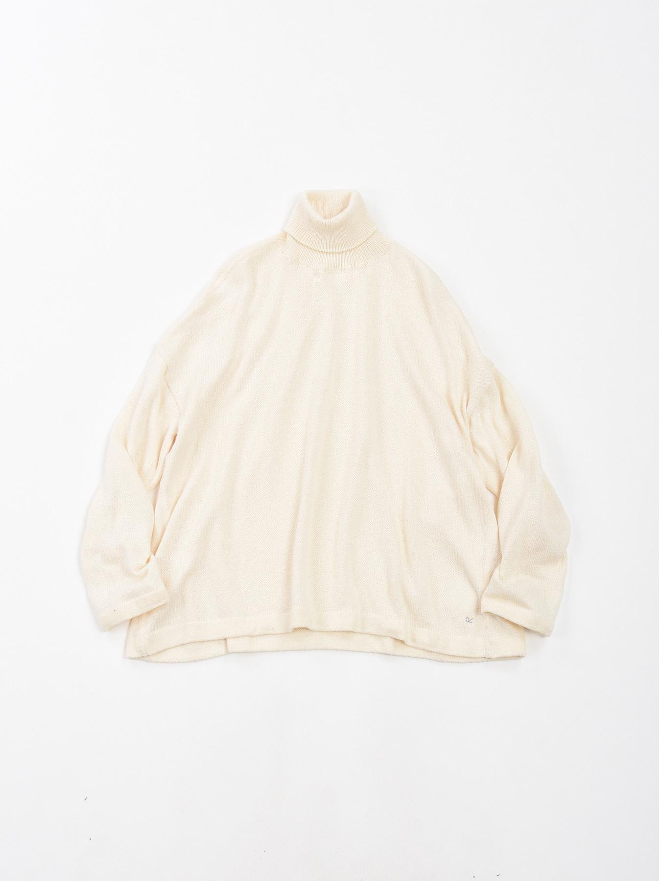 Zimbabwe Cotton Knit-sew Turtleneck-7