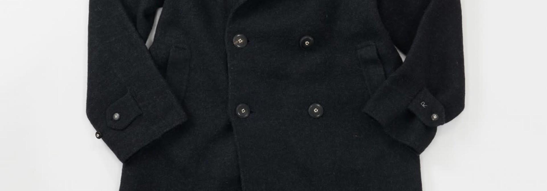 Boiled Wool 908 P-coat