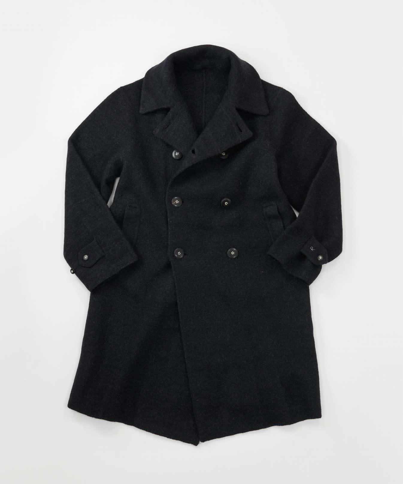 Boiled Wool 908 P-coat-1