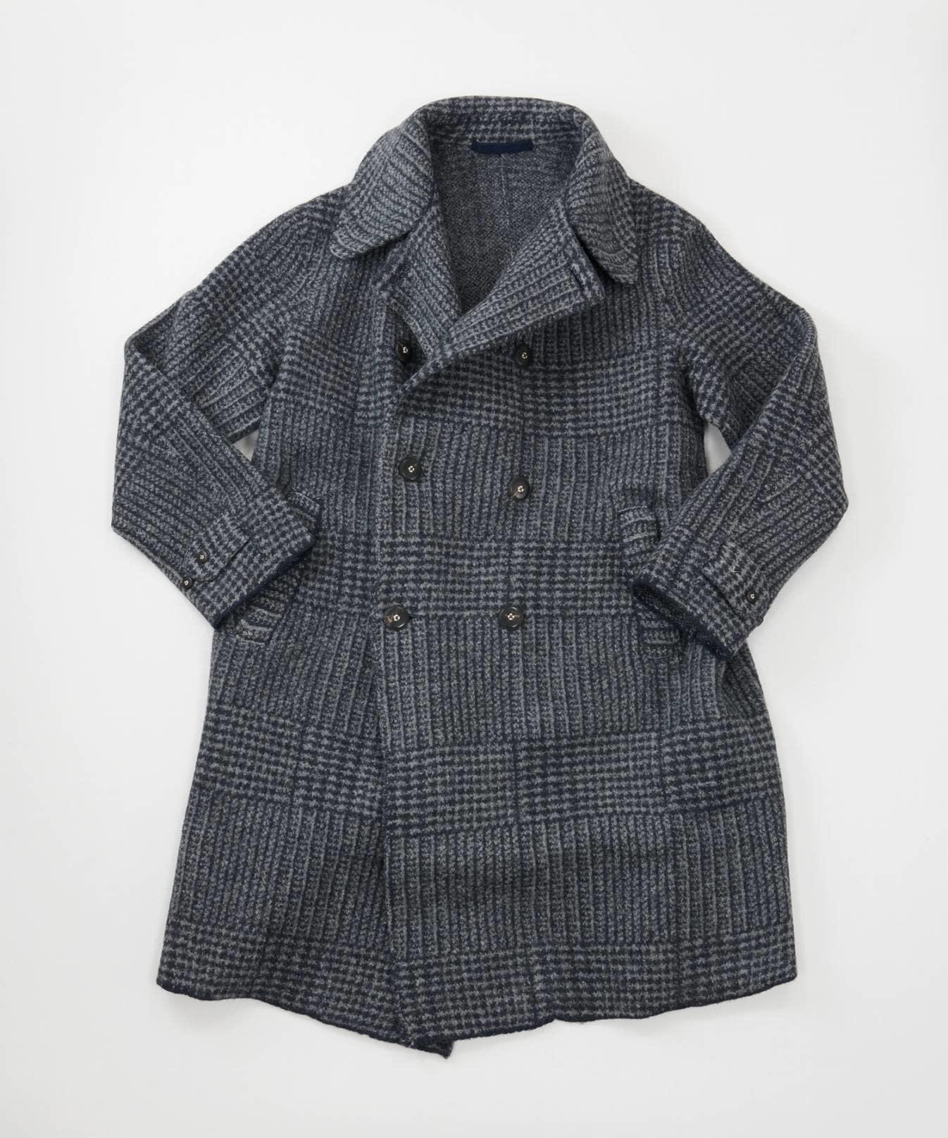 Boiled Wool 908 P-coat-5