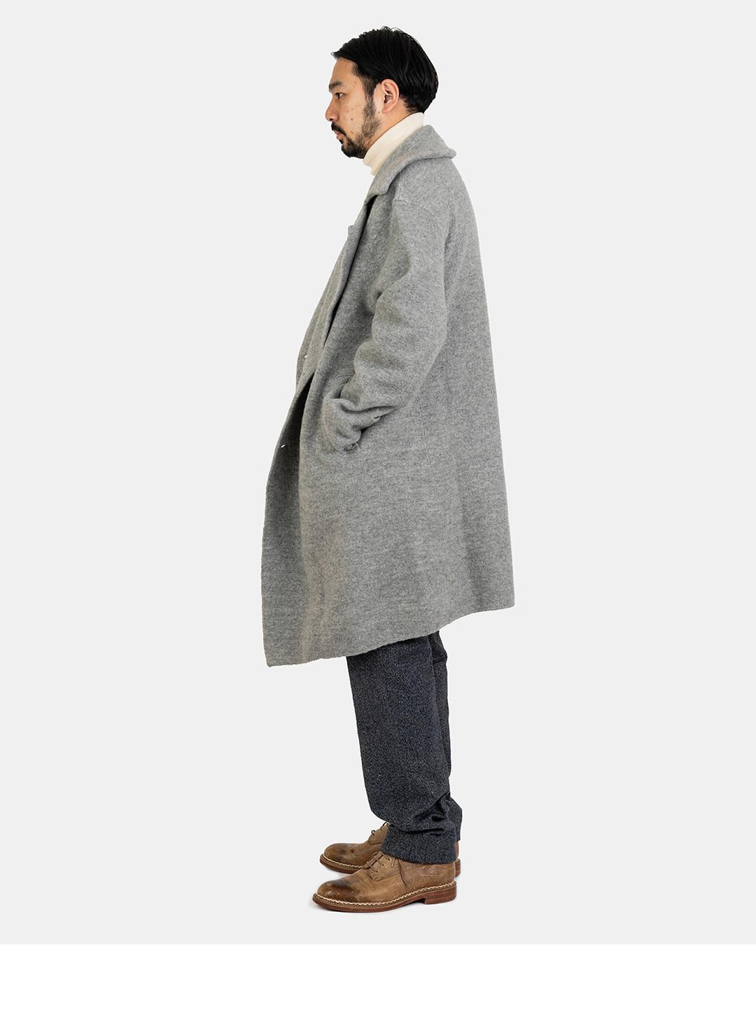 Boiled Wool 908 P-coat-3