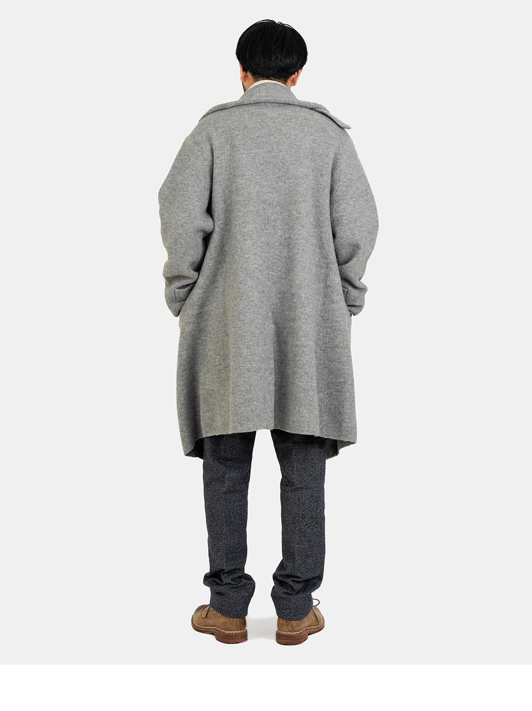 Boiled Wool 908 P-coat-4
