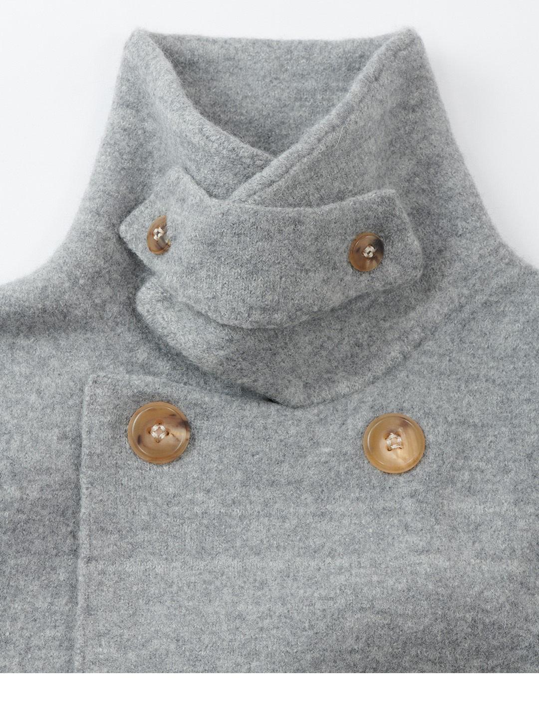 Boiled Wool 908 P-coat-9