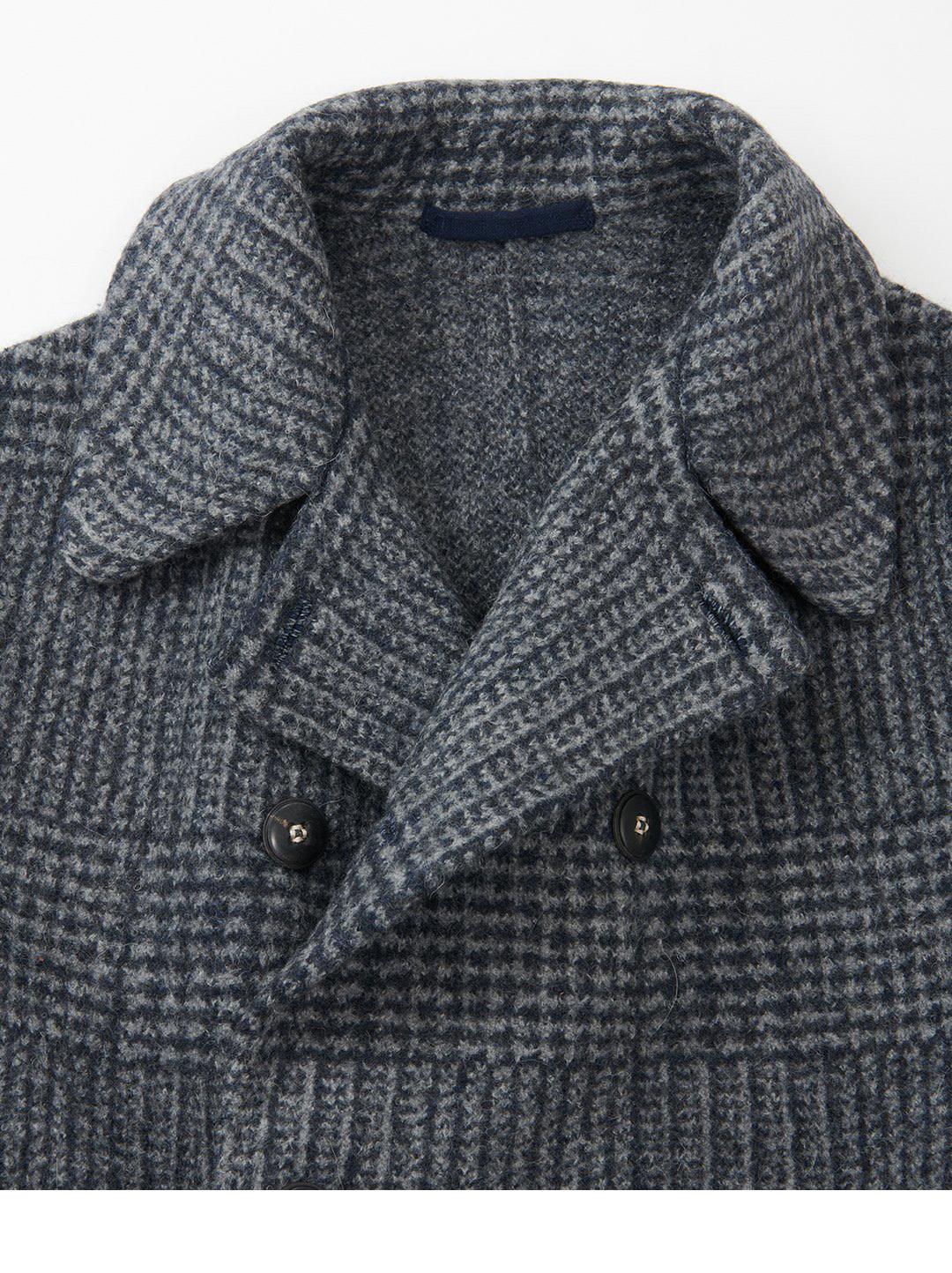 Boiled Wool 908 P-coat-8