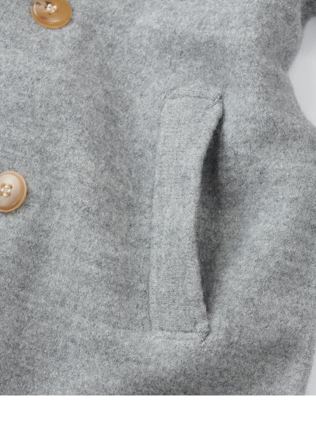 Boiled Wool 908 P-coat-10