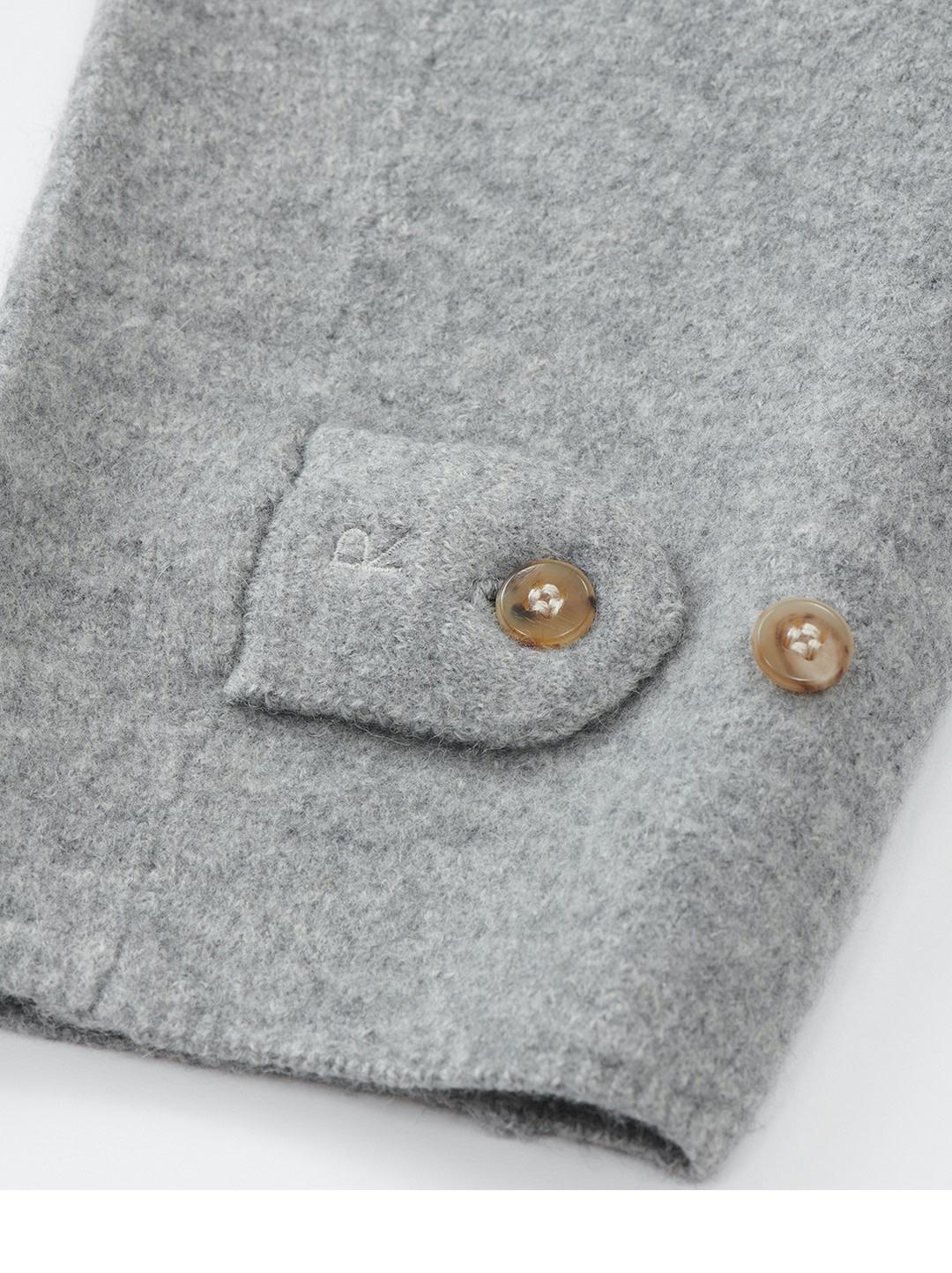 Boiled Wool 908 P-coat-11