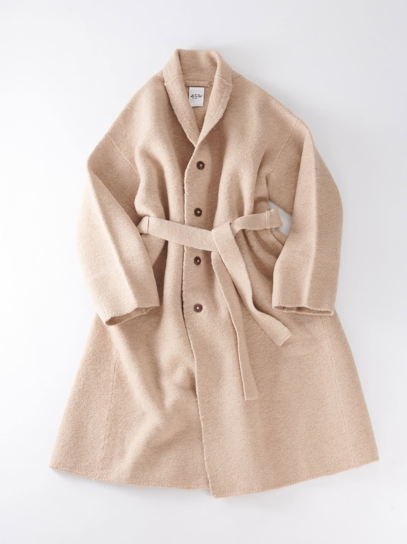Boiled Knit Coat-3