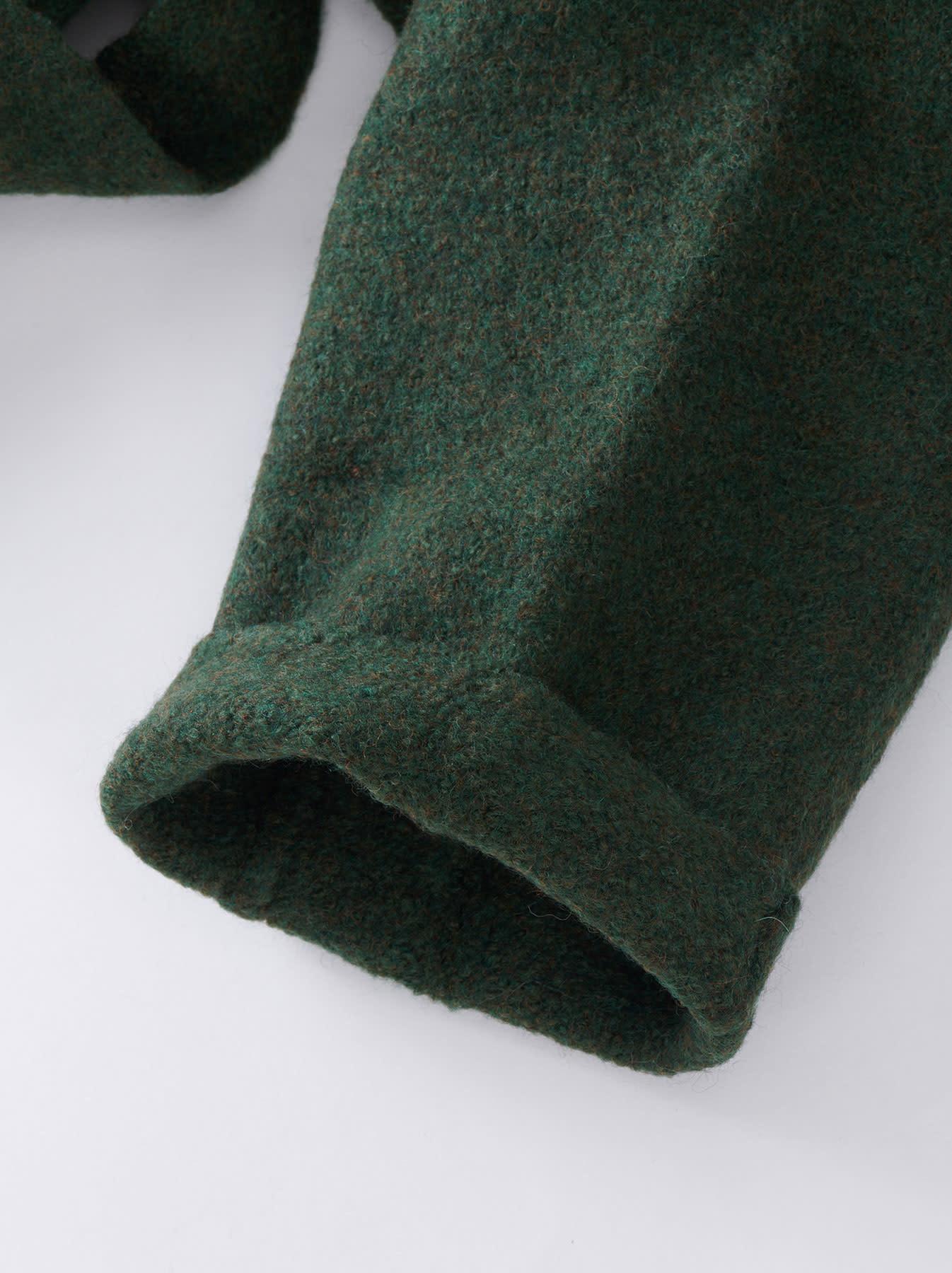 Boiled Knit Coat-8