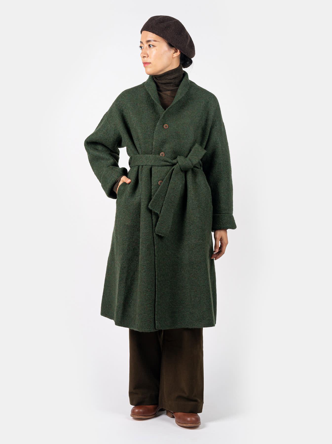 Boiled Knit Coat-2