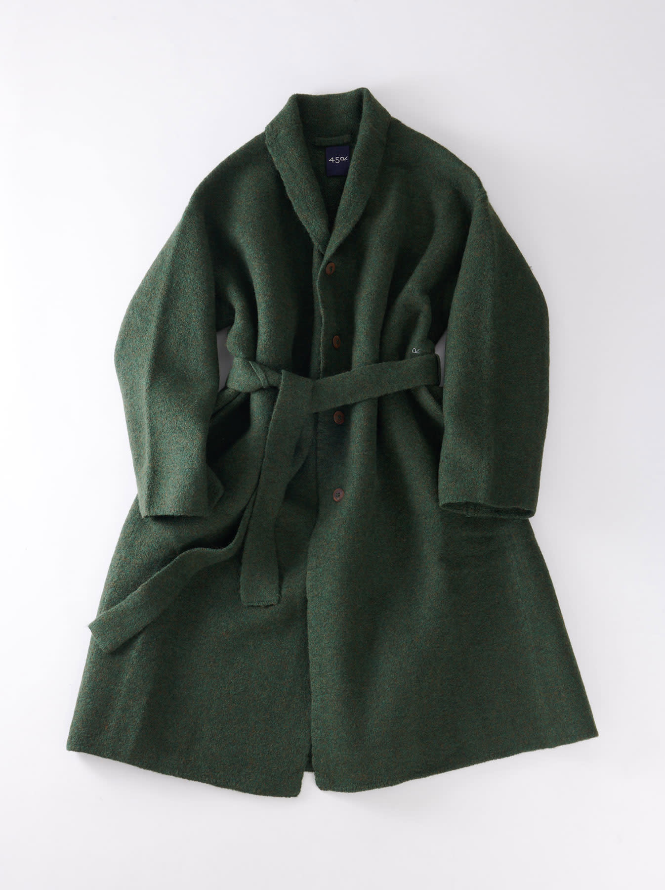 Boiled Knit Coat-4