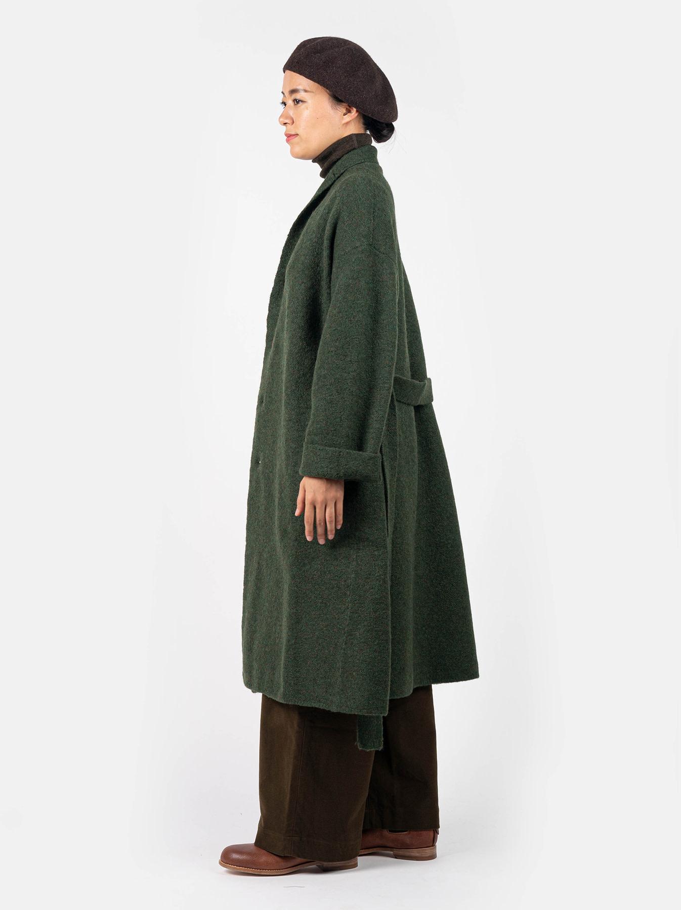 Boiled Knit Coat-6