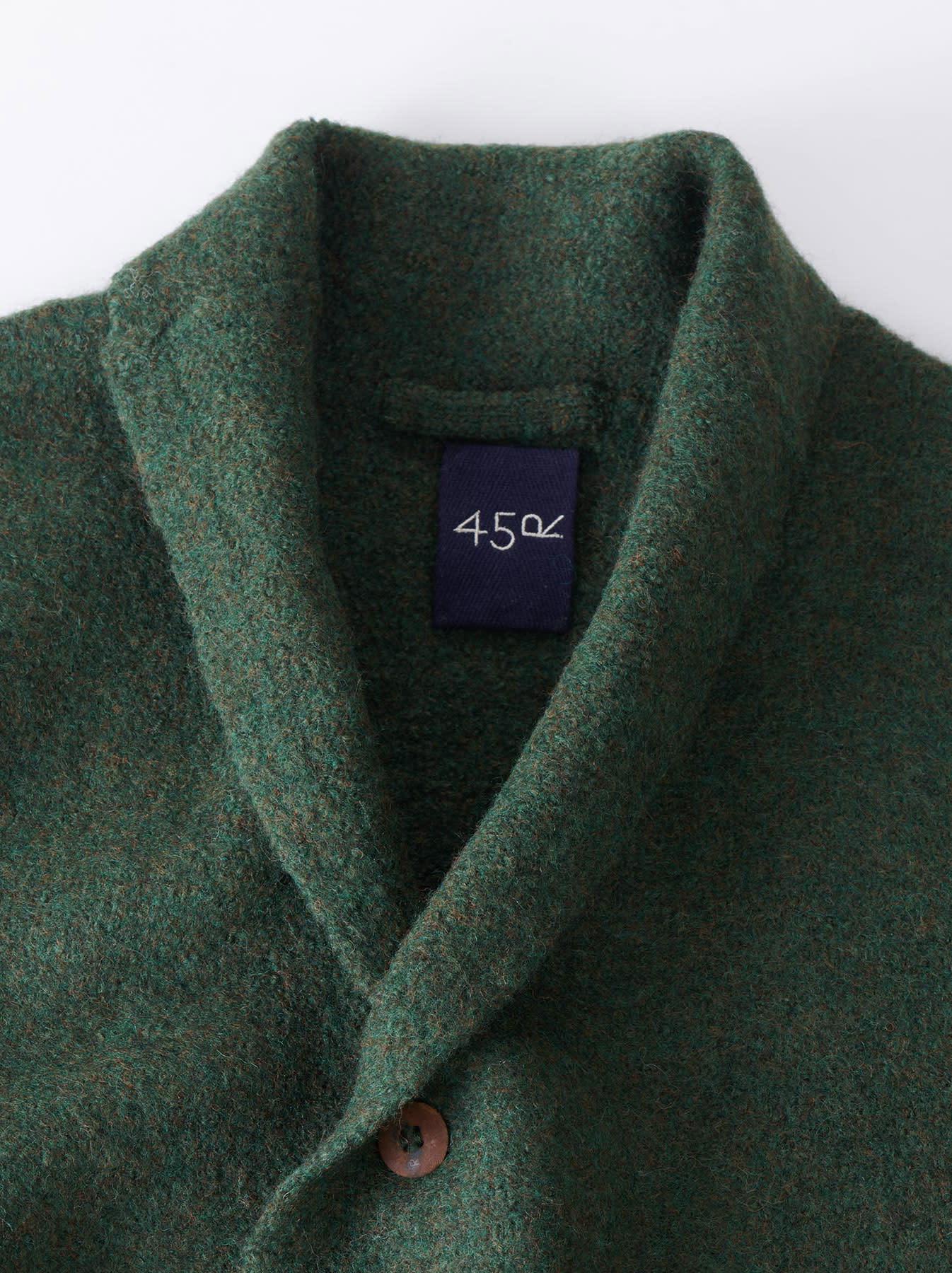 Boiled Knit Coat-10