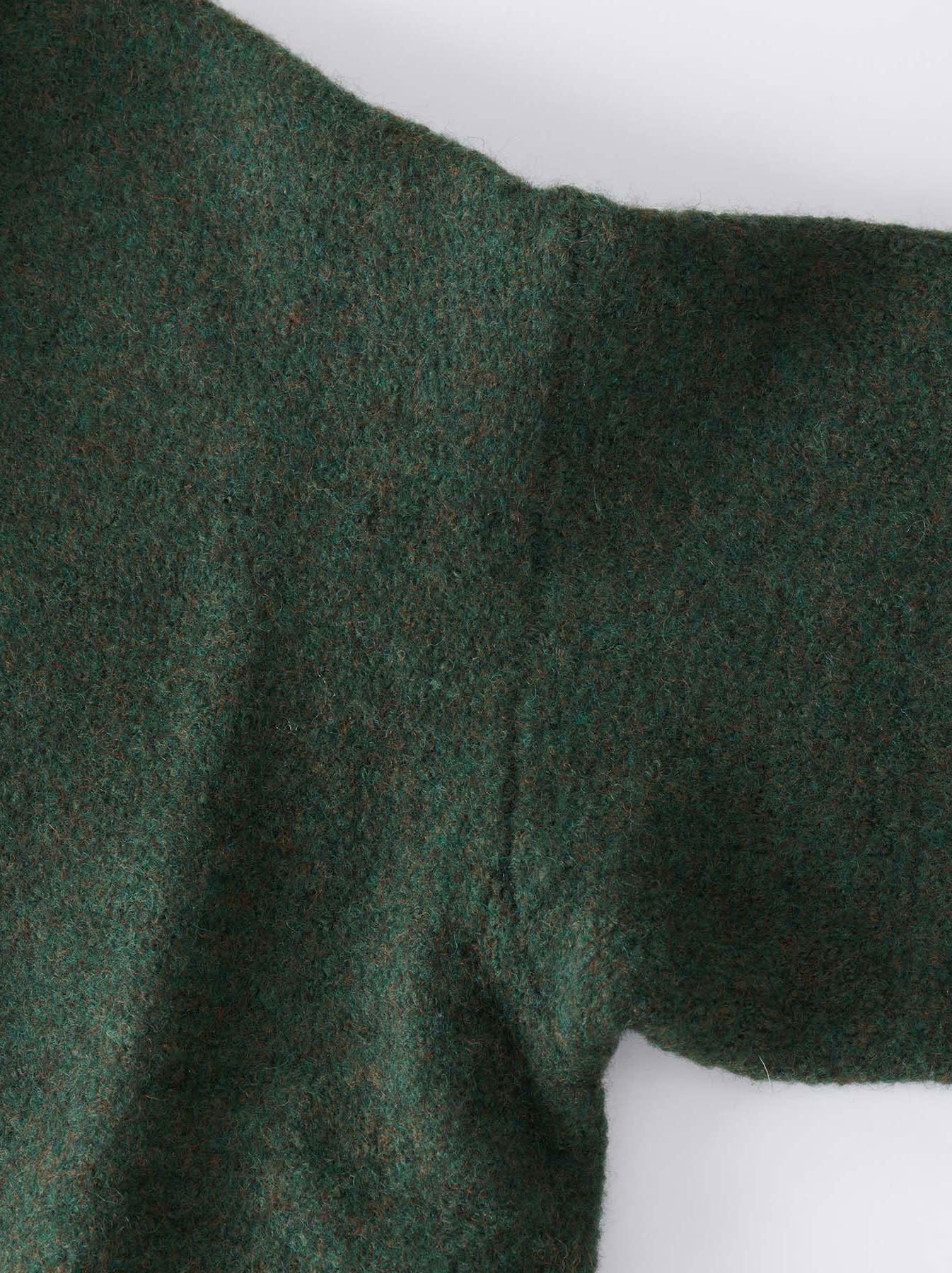 Boiled Knit Coat-11