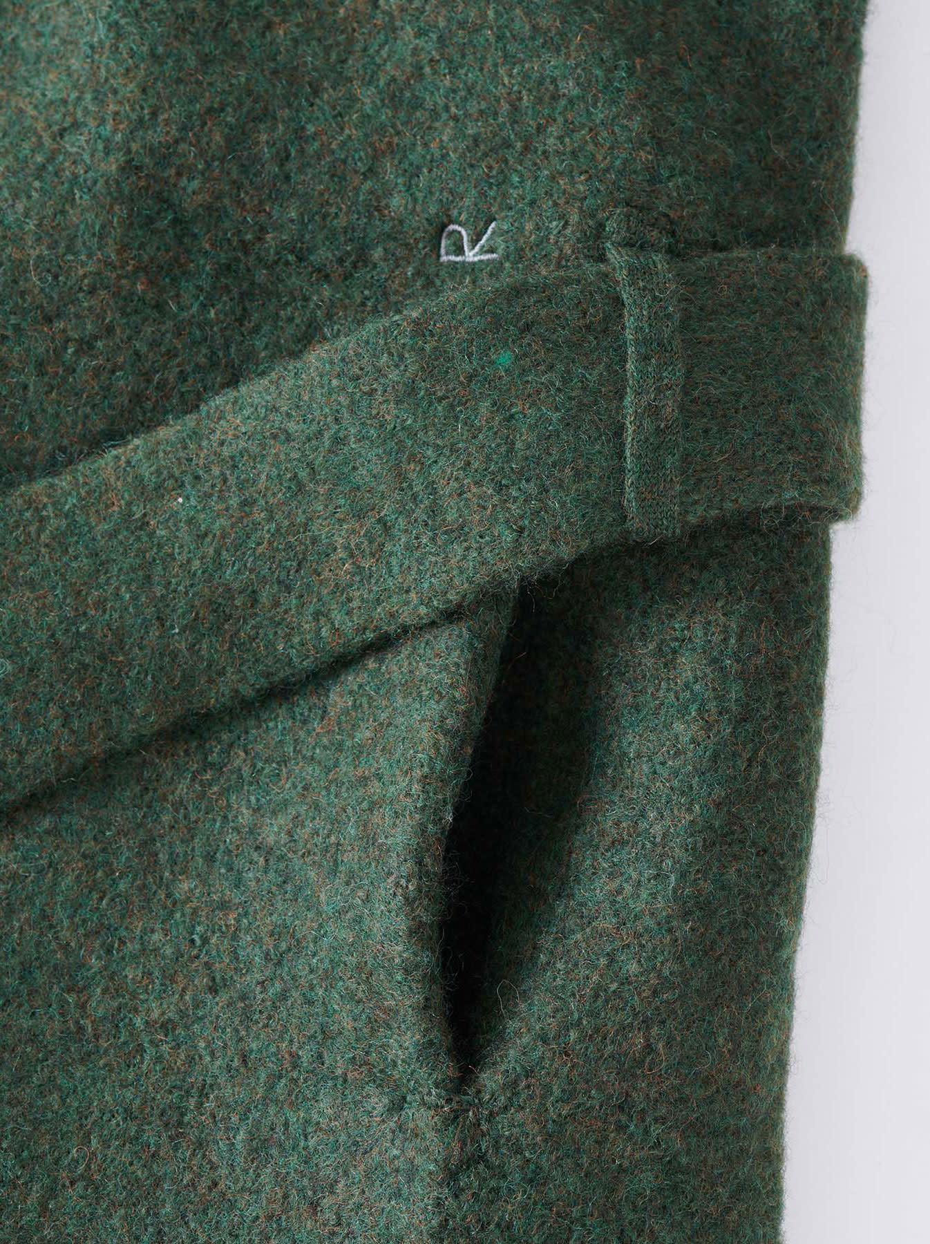Boiled Knit Coat-12