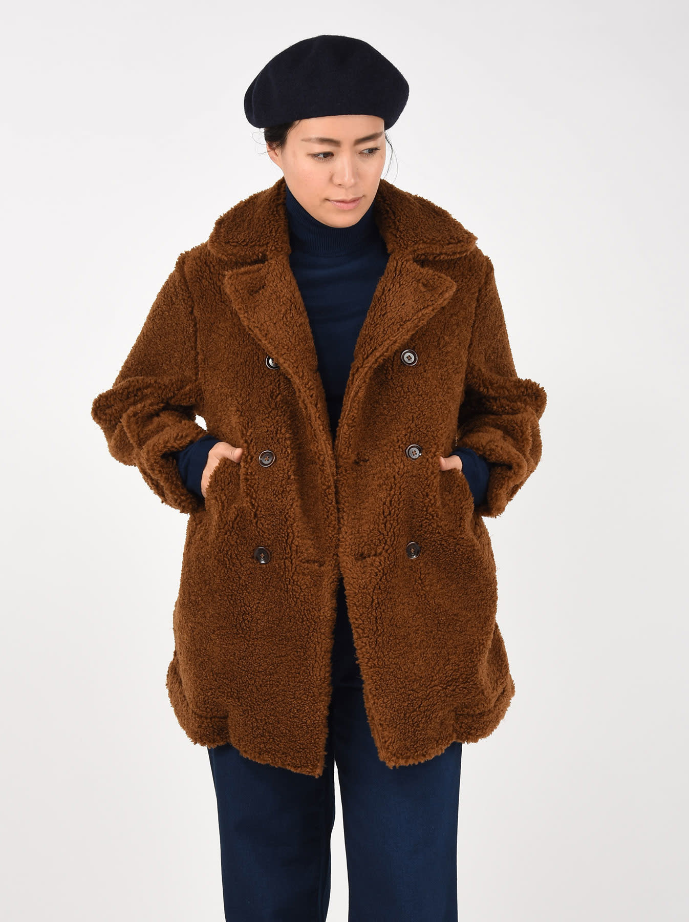 Sheep Boa 908 P-coat-4