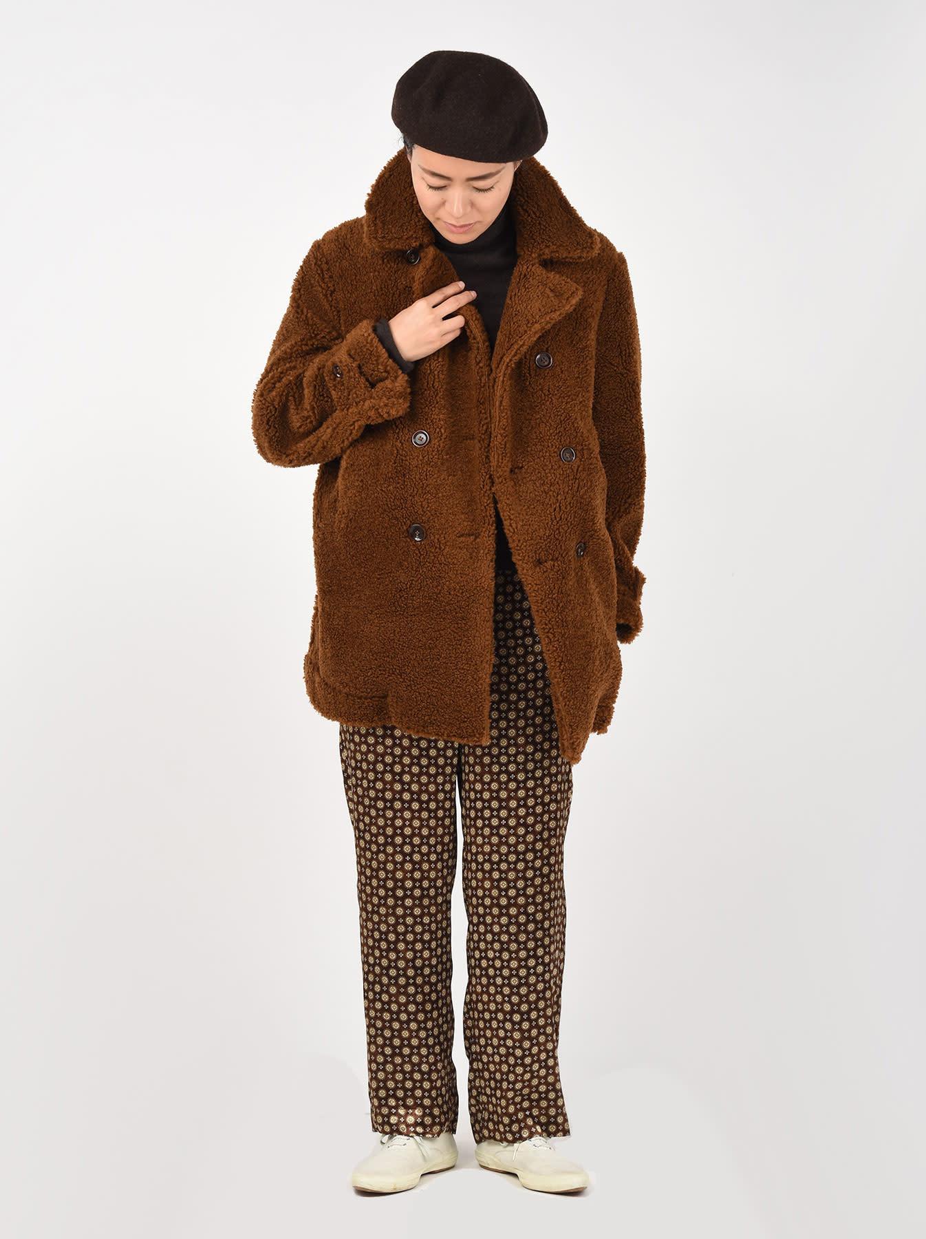 Sheep Boa 908 P-coat-2